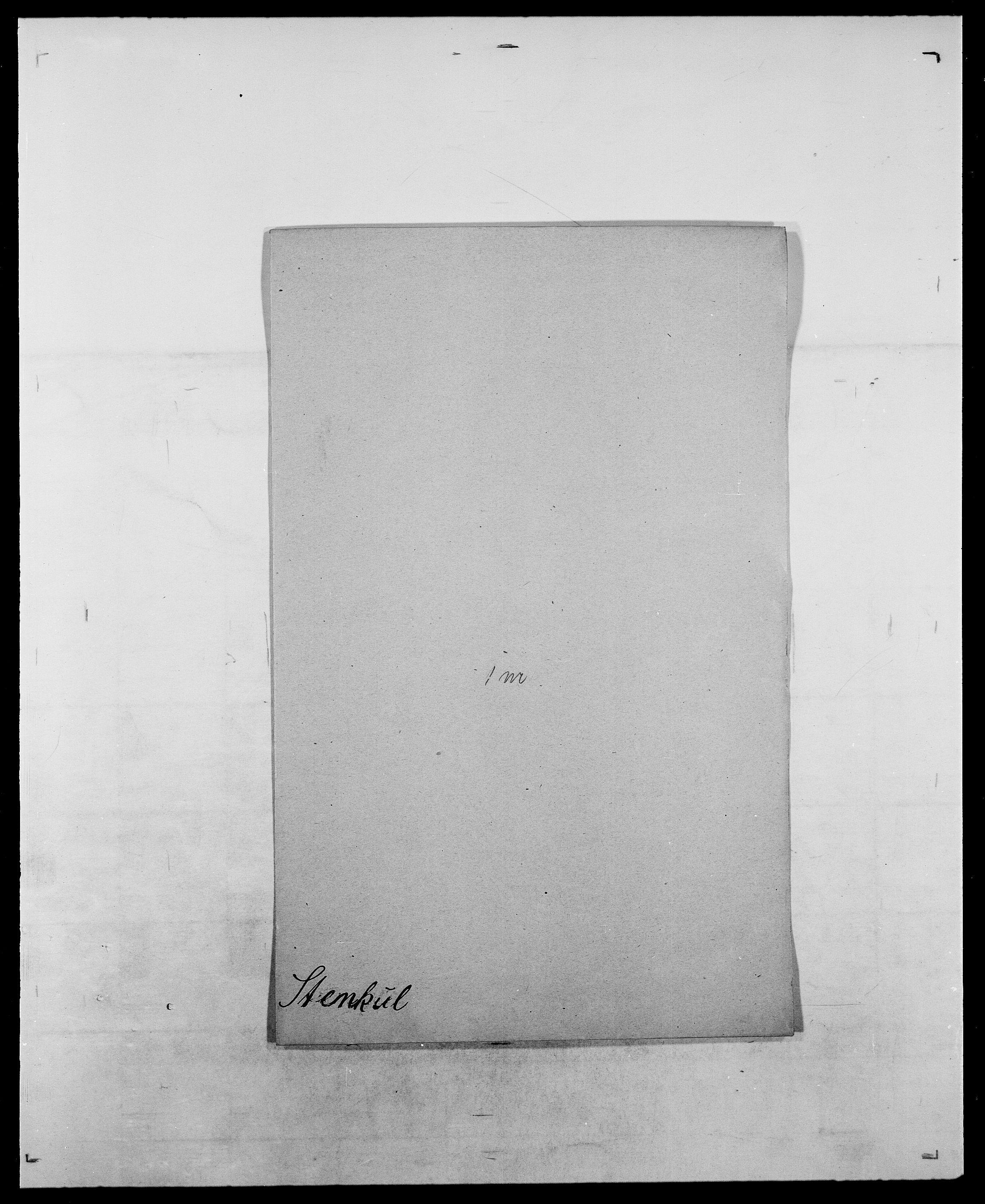 SAO, Delgobe, Charles Antoine - samling, D/Da/L0037: Steen, Sthen, Stein - Svare, Svanige, Svanne, se også Svanning og Schwane, s. 349