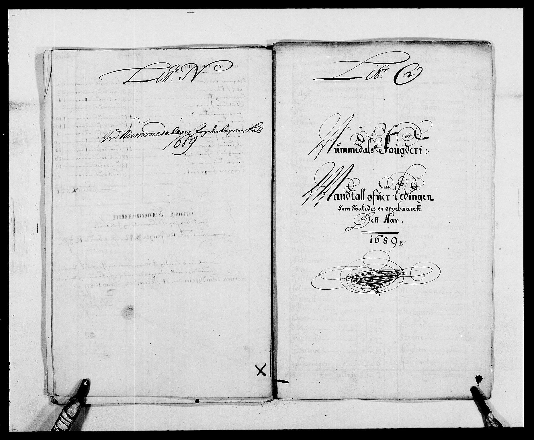 RA, Rentekammeret inntil 1814, Reviderte regnskaper, Fogderegnskap, R64/L4422: Fogderegnskap Namdal, 1687-1689, s. 271