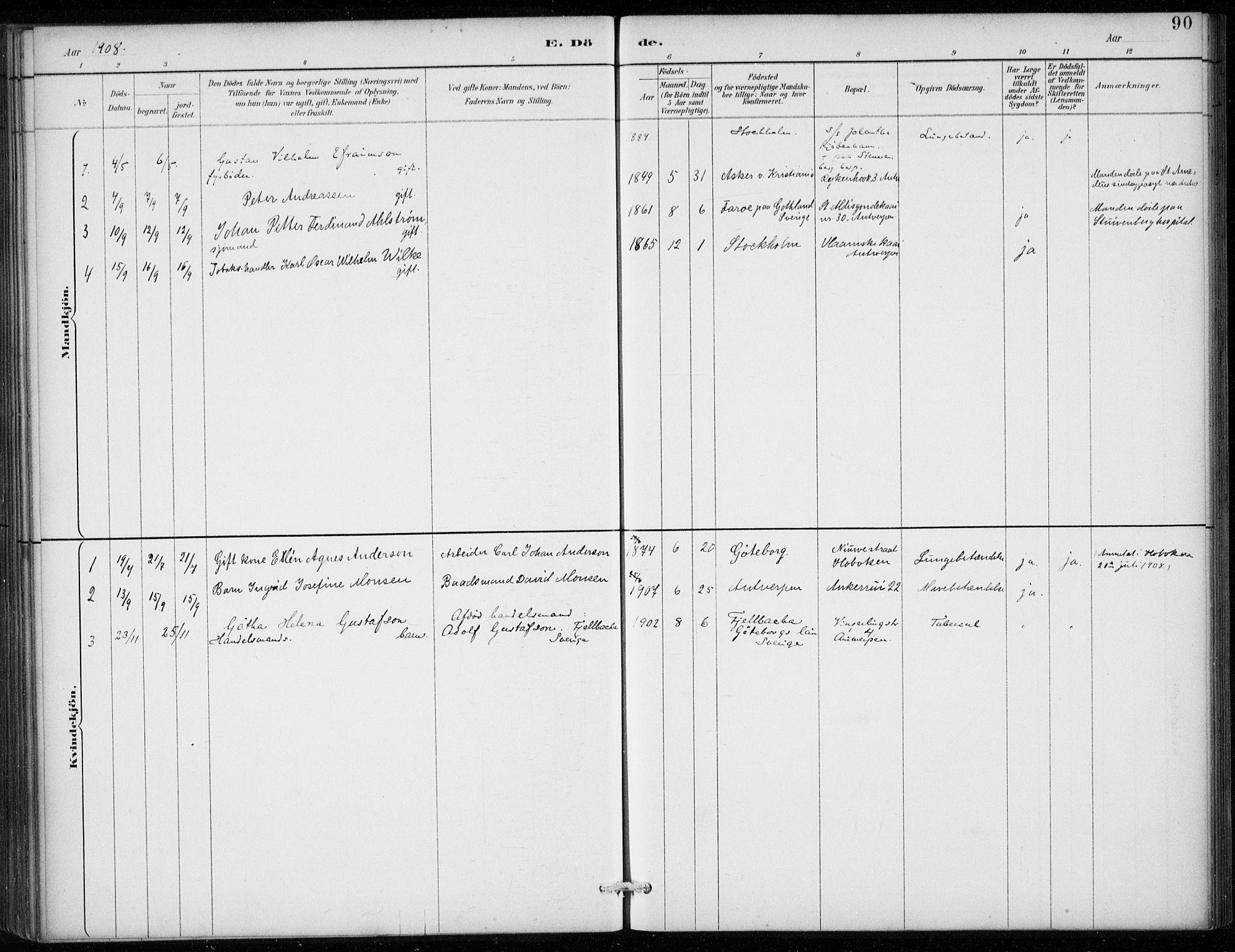 SAB, Den Norske Sjømannsmisjon i utlandet*, Ministerialbok nr. A 2, 1887-1913, s. 90