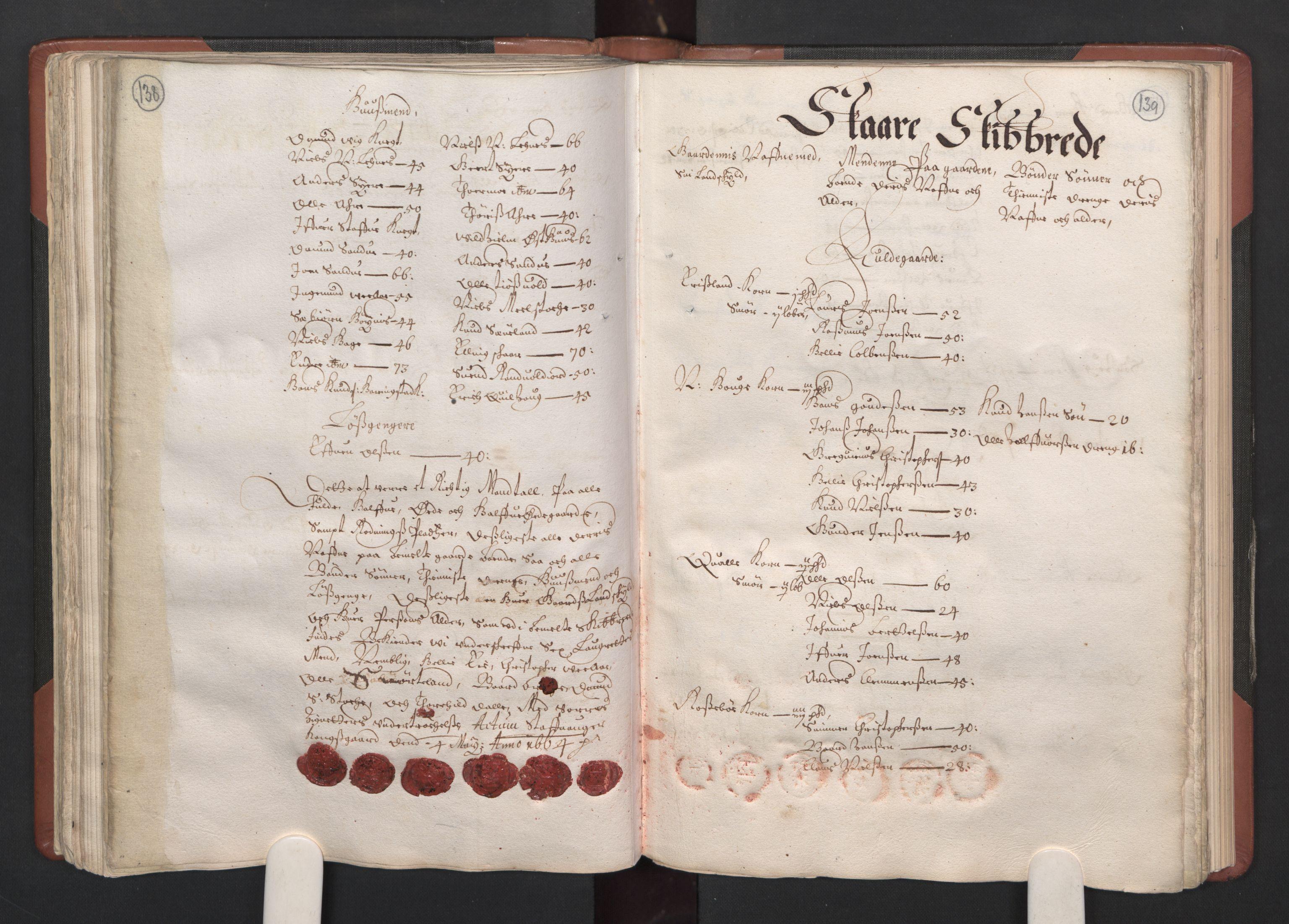 RA, Fogdenes og sorenskrivernes manntall 1664-1666, nr. 12: Ryfylke fogderi, 1664, s. 138-139