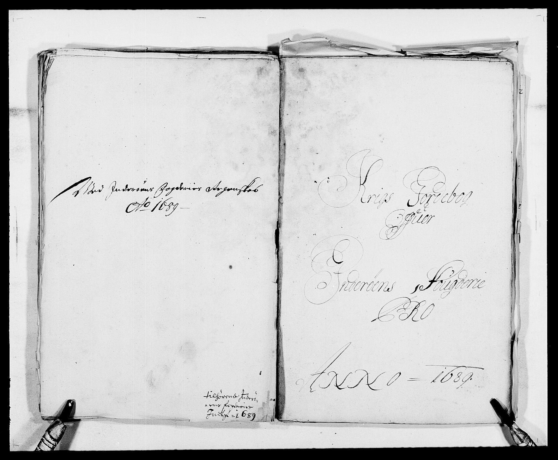 RA, Rentekammeret inntil 1814, Reviderte regnskaper, Fogderegnskap, R63/L4306: Fogderegnskap Inderøy, 1687-1689, s. 484