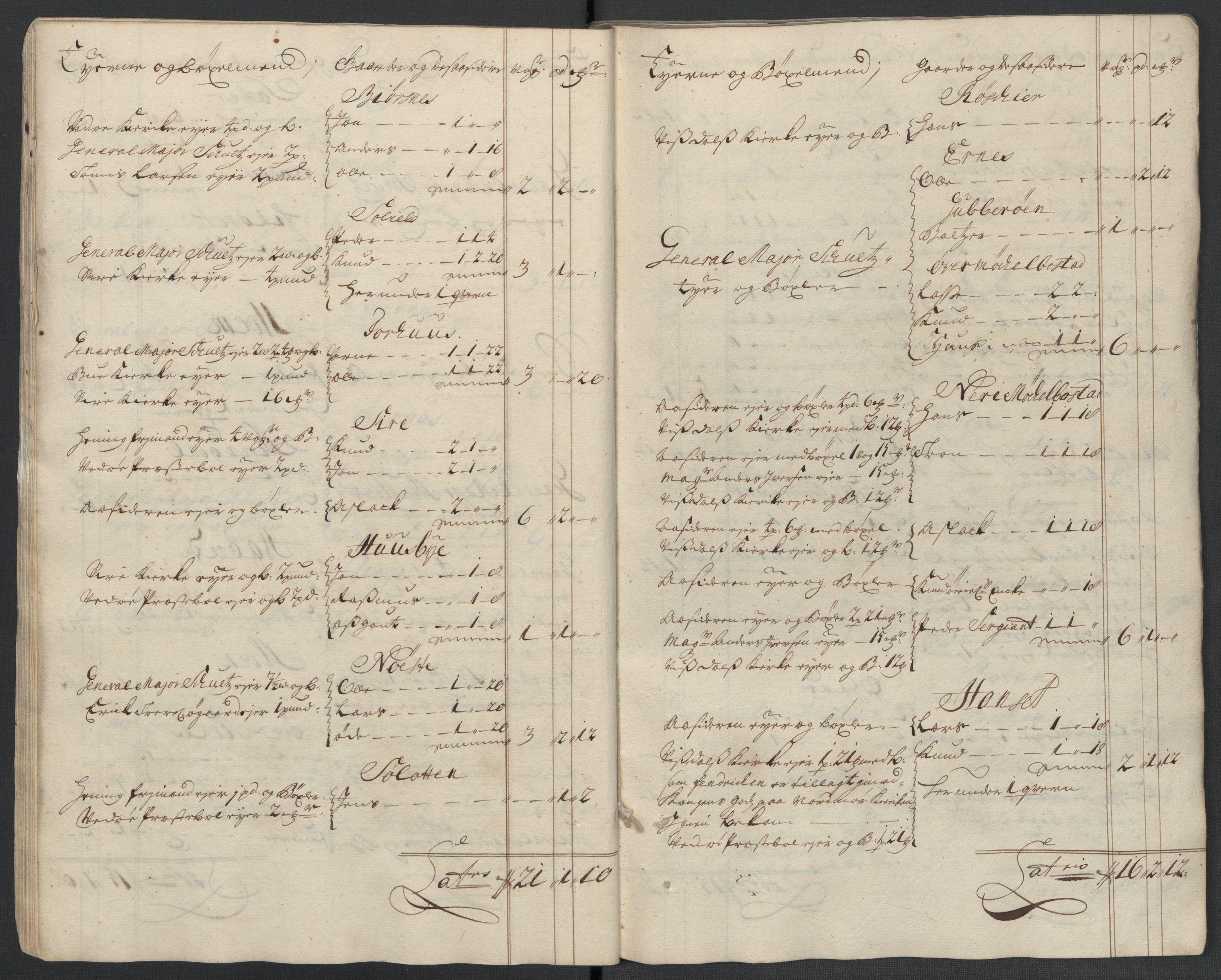 RA, Rentekammeret inntil 1814, Reviderte regnskaper, Fogderegnskap, R55/L3659: Fogderegnskap Romsdal, 1709-1710, s. 292
