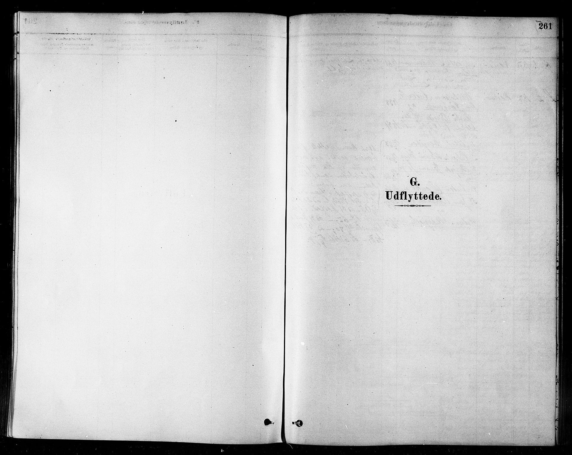 SATØ, Loppa sokneprestkontor, H/Ha/L0006kirke: Ministerialbok nr. 6, 1879-1895, s. 261