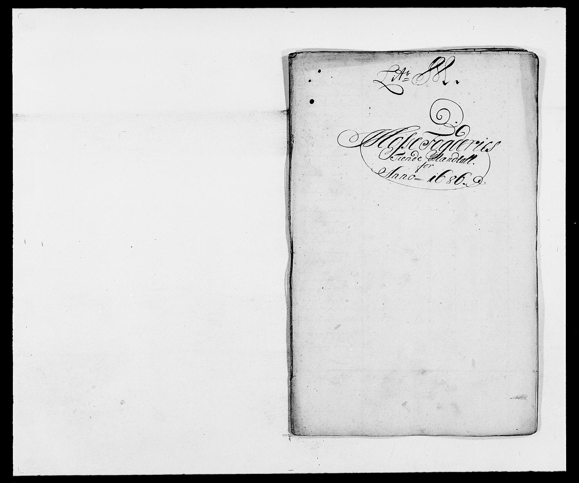 RA, Rentekammeret inntil 1814, Reviderte regnskaper, Fogderegnskap, R02/L0105: Fogderegnskap Moss og Verne kloster, 1685-1687, s. 159