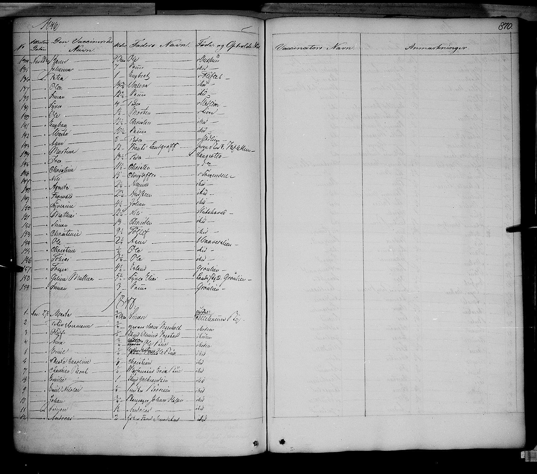 SAH, Fåberg prestekontor, Ministerialbok nr. 5, 1836-1854, s. 869-870