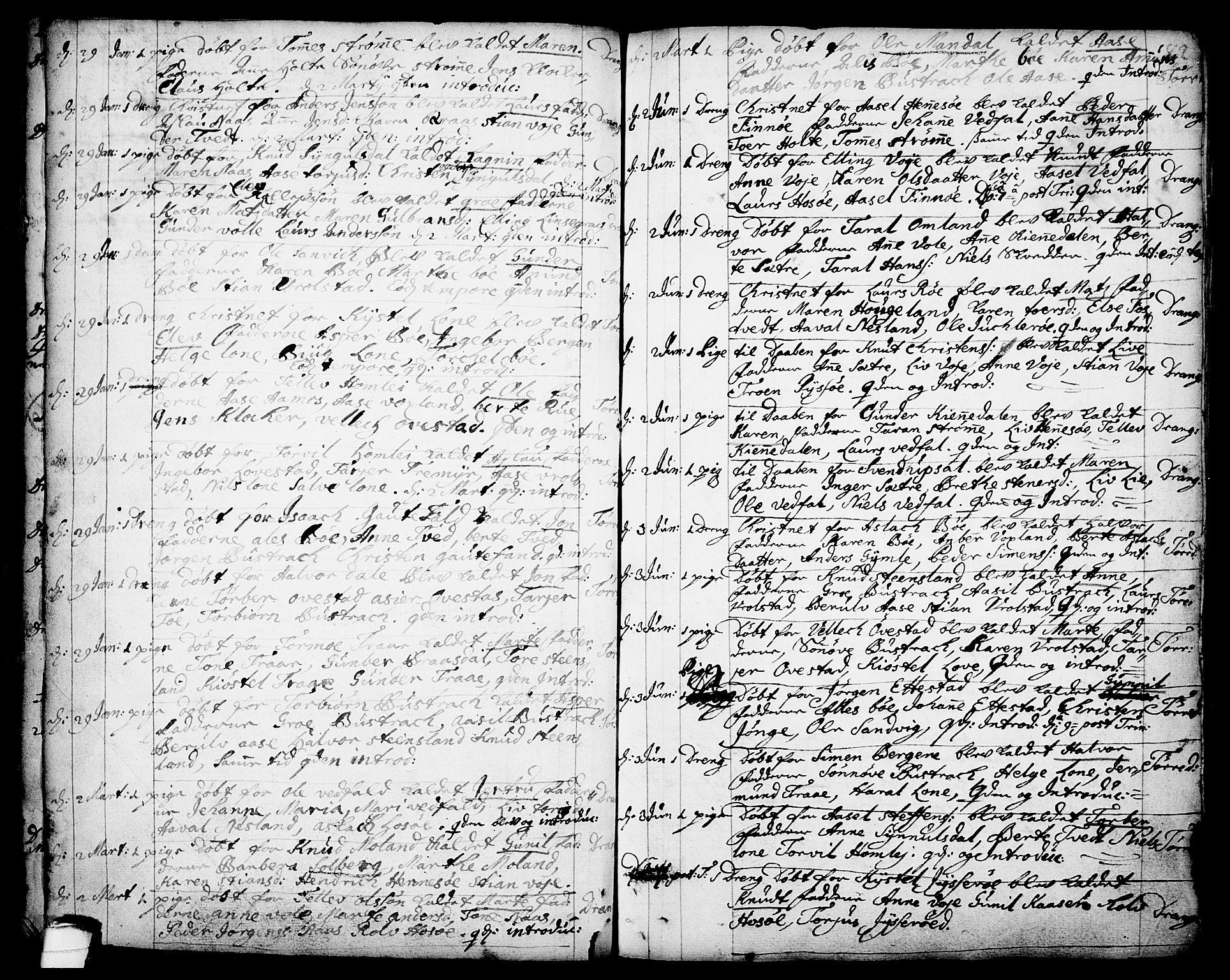 SAKO, Drangedal kirkebøker, F/Fa/L0001: Ministerialbok nr. 1, 1697-1767, s. 82