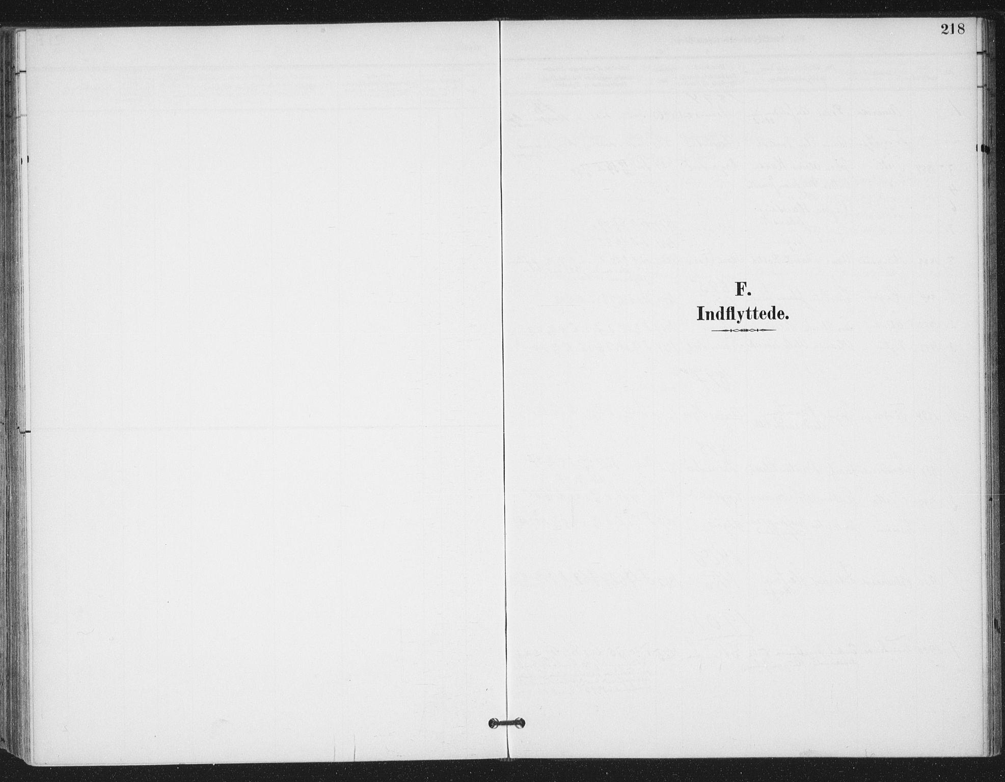 SAT, Ministerialprotokoller, klokkerbøker og fødselsregistre - Sør-Trøndelag, 657/L0708: Ministerialbok nr. 657A09, 1894-1904, s. 218