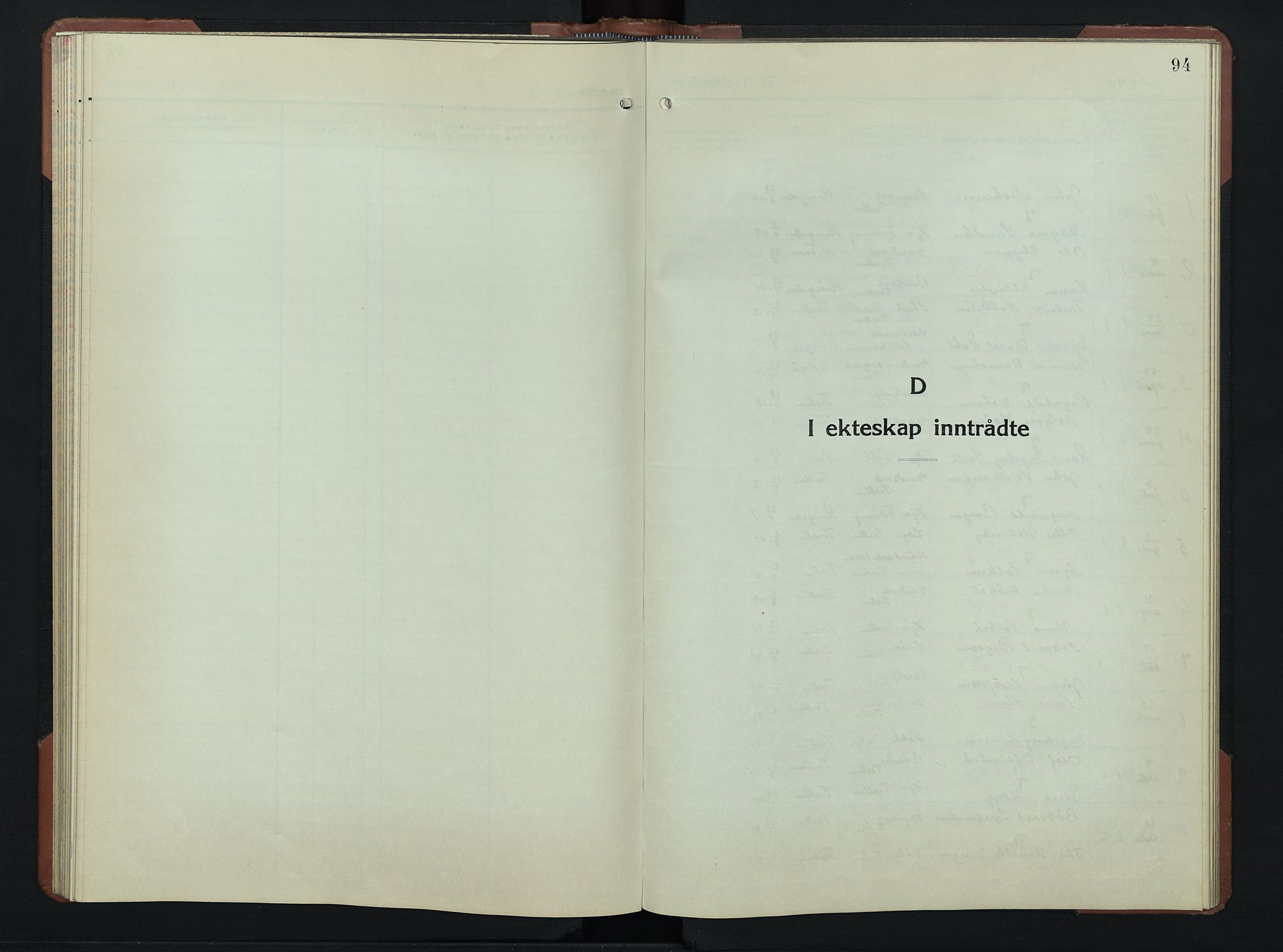 SAH, Øyer prestekontor, Klokkerbok nr. 9, 1939-1953, s. 94