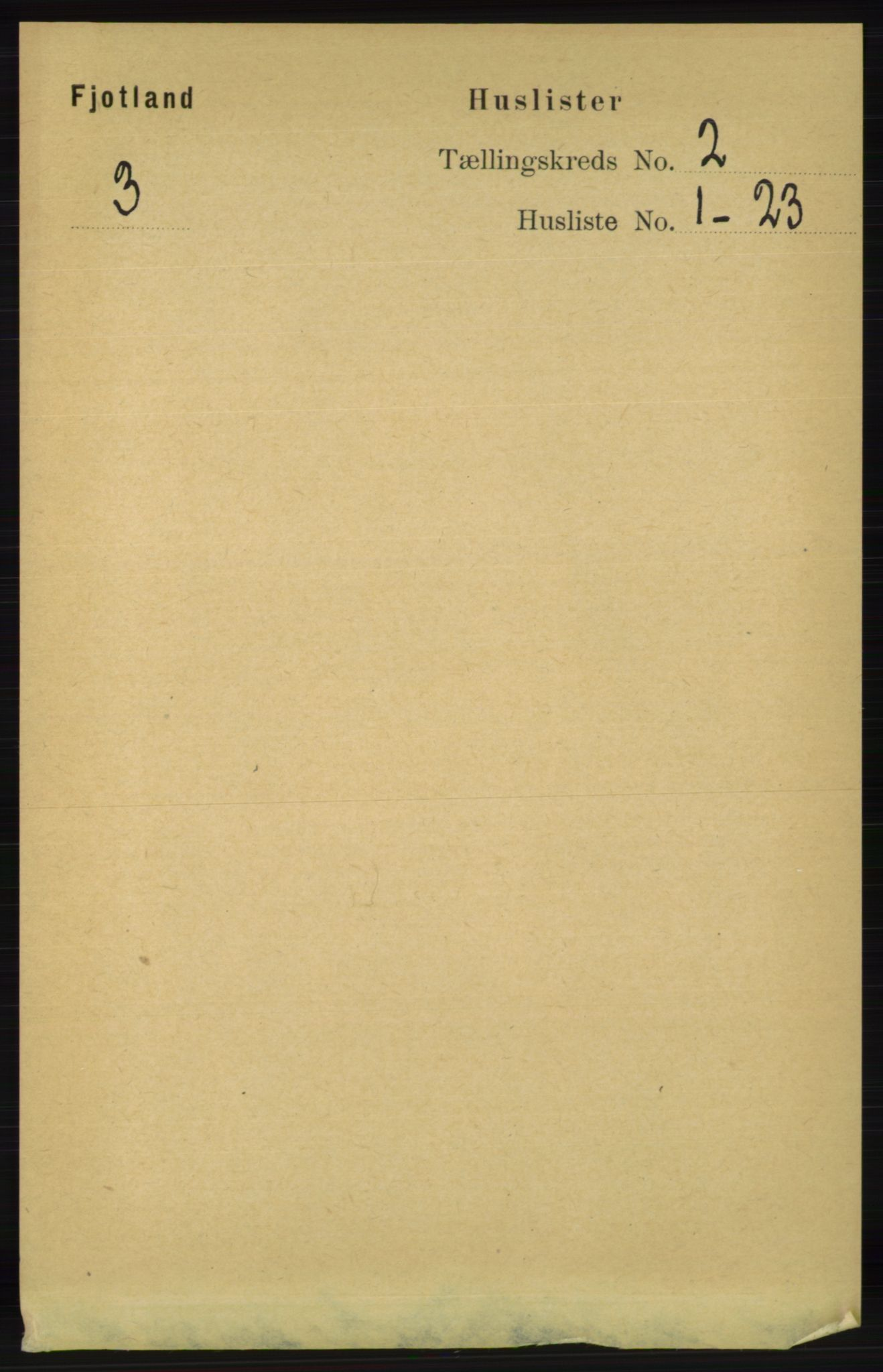RA, Folketelling 1891 for 1036 Fjotland herred, 1891, s. 210