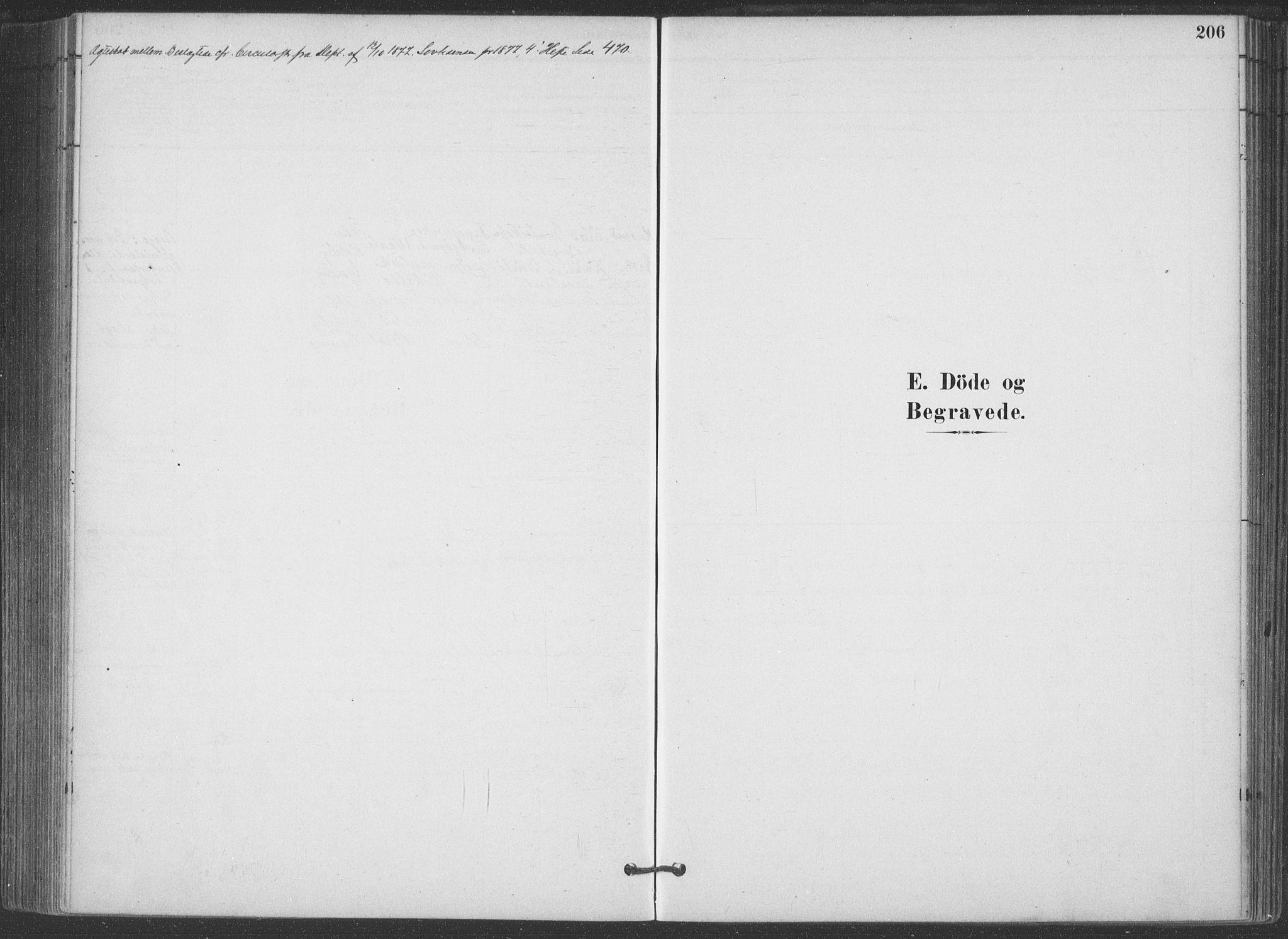 SAKO, Hjartdal kirkebøker, F/Fa/L0010: Ministerialbok nr. I 10, 1880-1929, s. 206