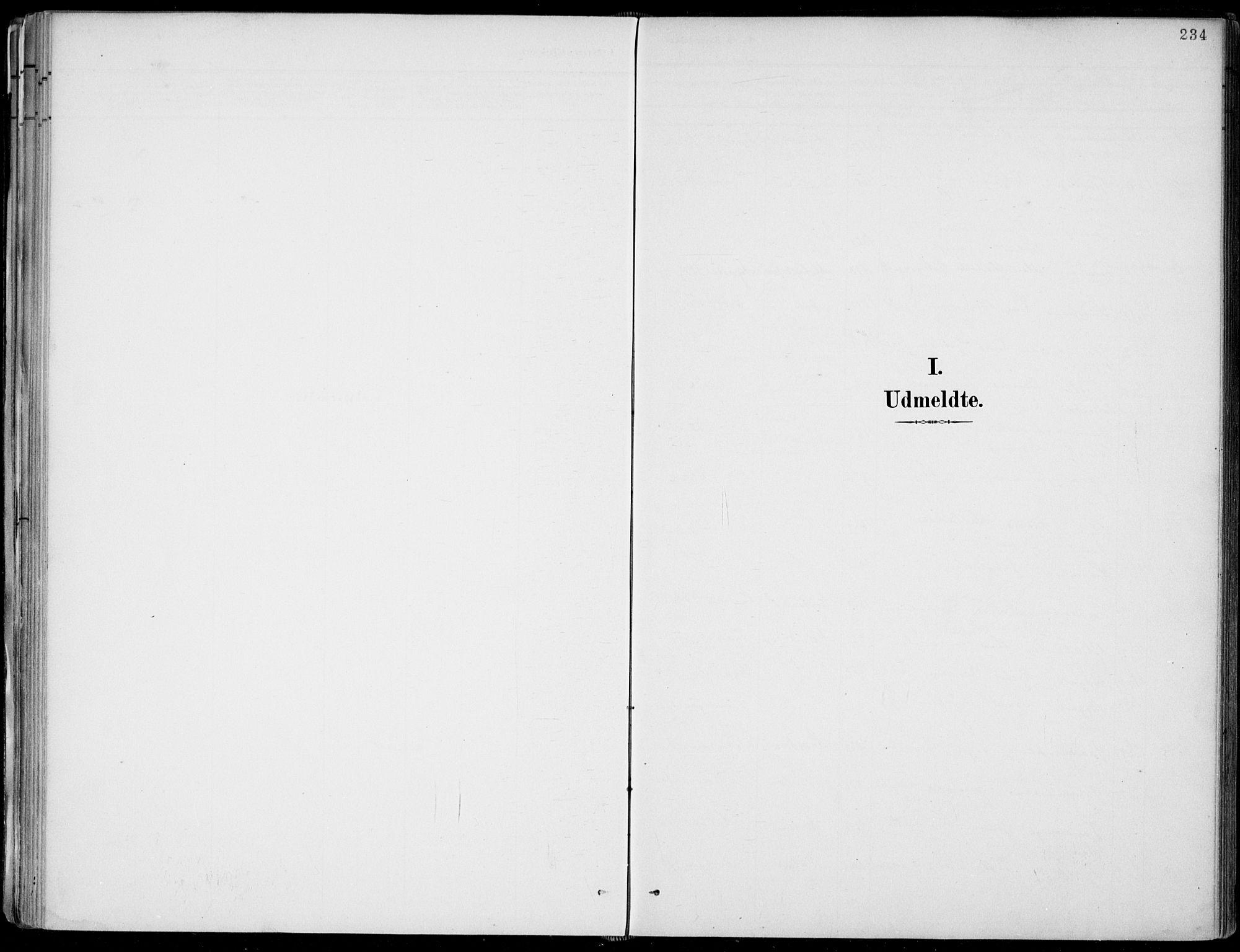 SAKO, Fyresdal kirkebøker, F/Fa/L0007: Ministerialbok nr. I 7, 1887-1914, s. 234