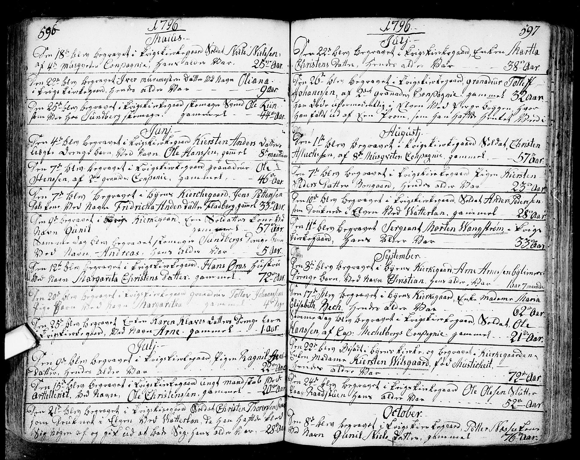 SAO, Fredrikstad prestekontor Kirkebøker, F/Fa/L0002: Ministerialbok nr. 2, 1750-1804, s. 596-597