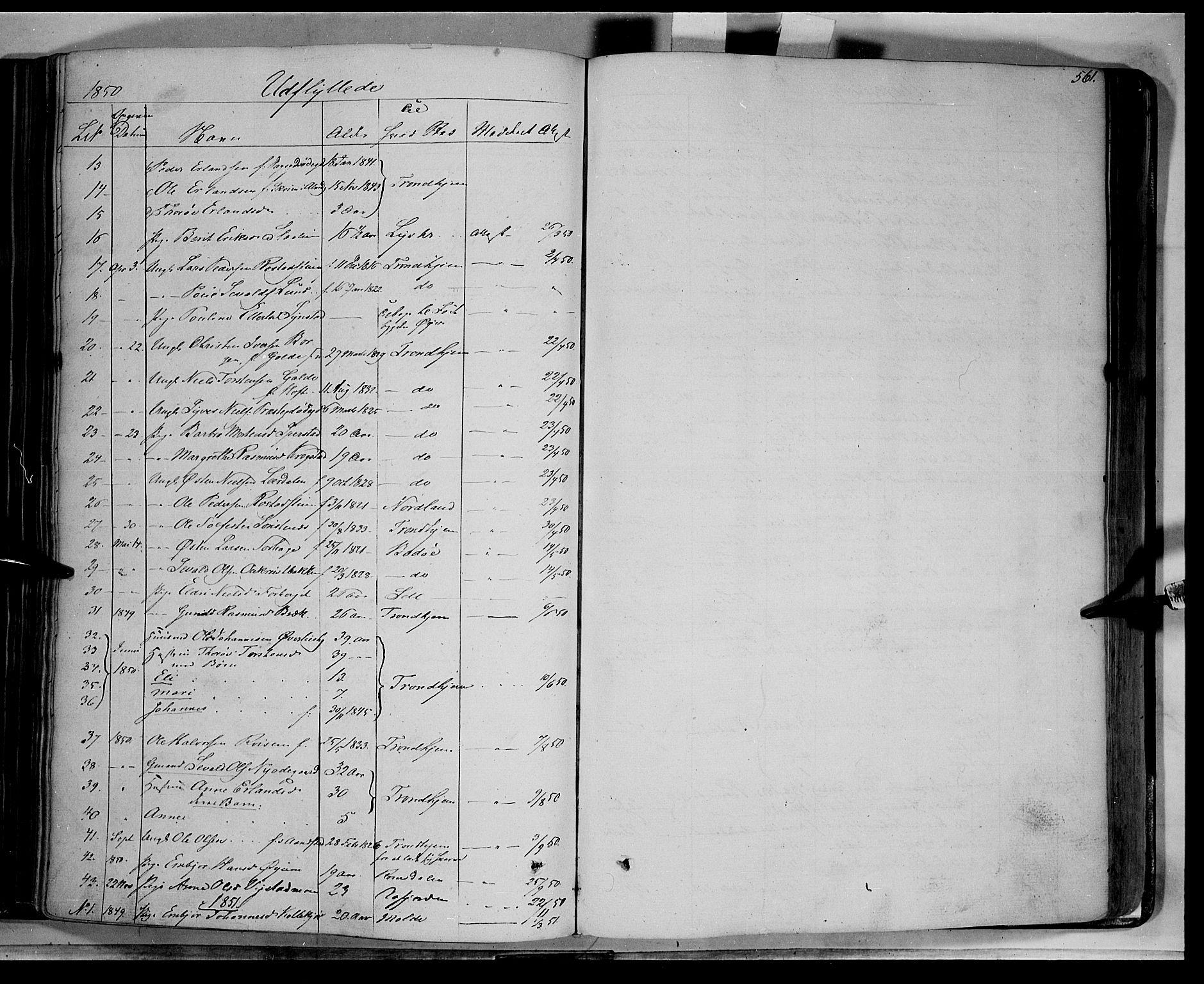 SAH, Lom prestekontor, K/L0006: Ministerialbok nr. 6B, 1837-1863, s. 561