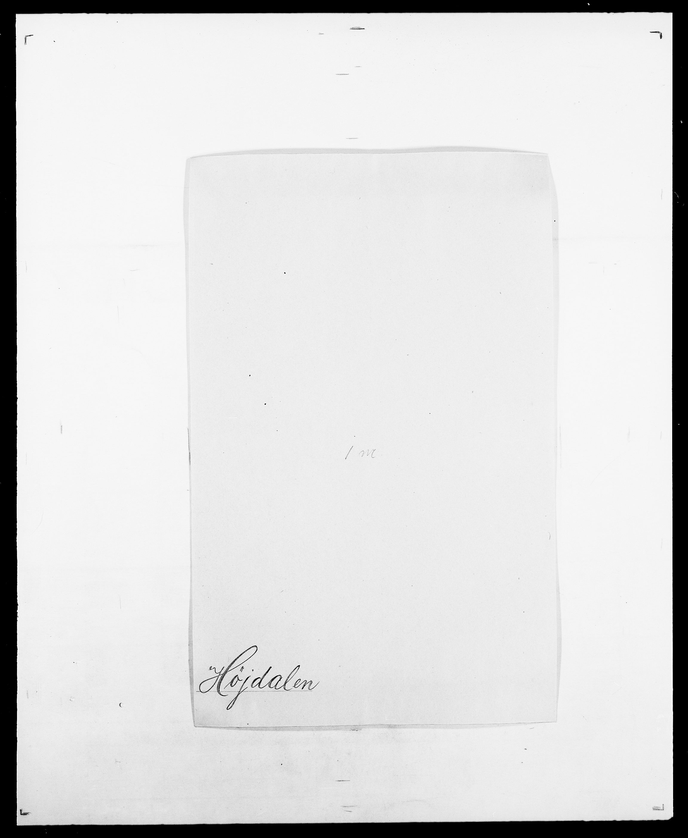 SAO, Delgobe, Charles Antoine - samling, D/Da/L0019: van der Hude - Joys, s. 354