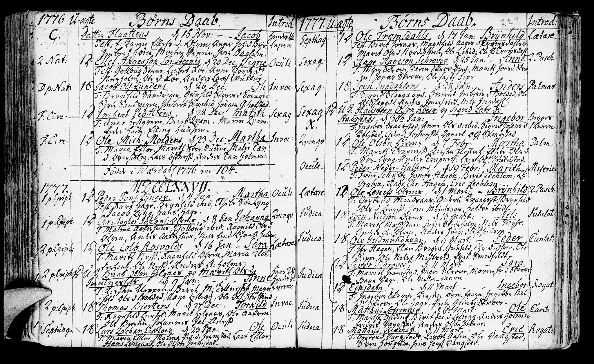 SAT, Ministerialprotokoller, klokkerbøker og fødselsregistre - Nord-Trøndelag, 723/L0231: Ministerialbok nr. 723A02, 1748-1780, s. 229