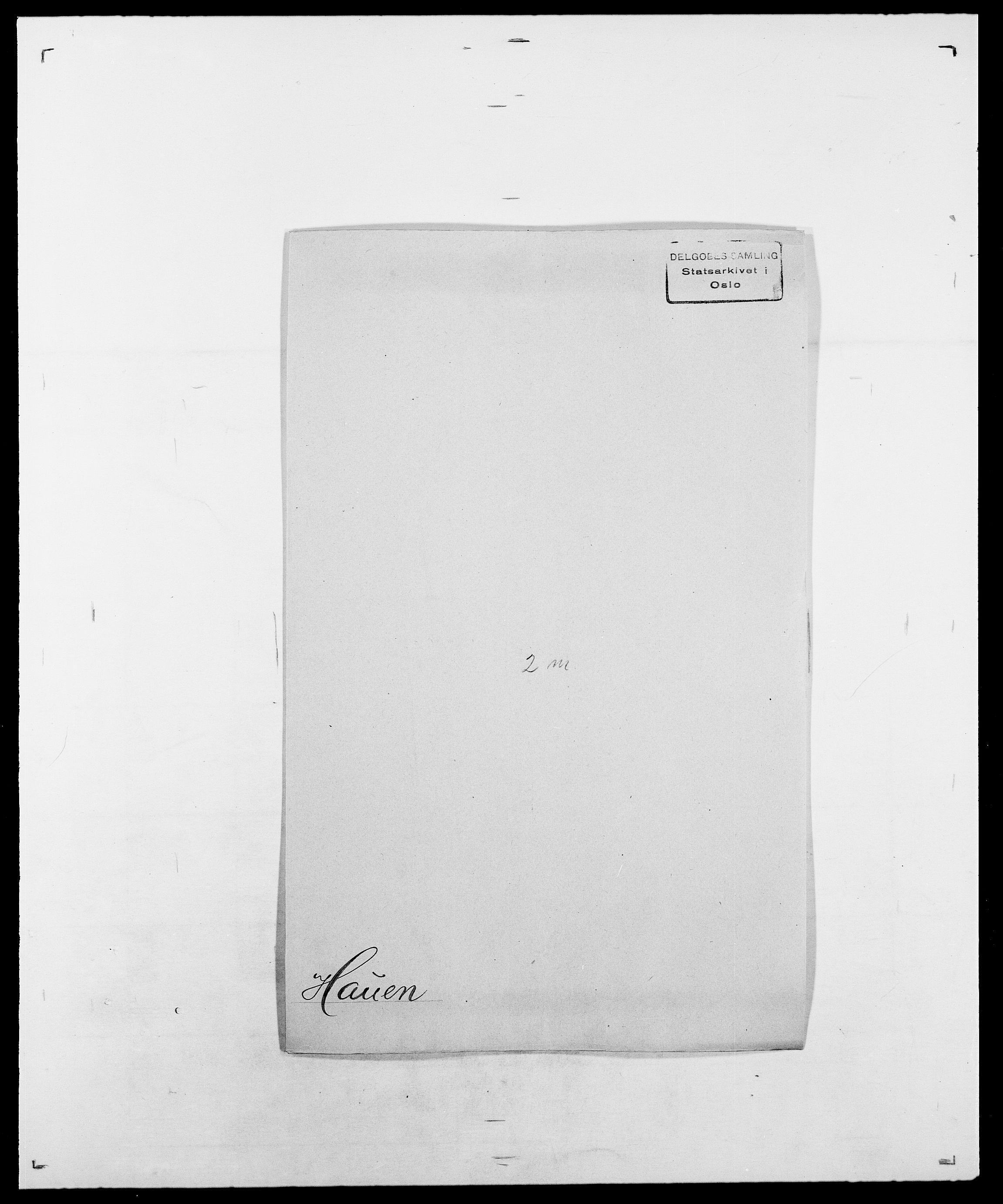 SAO, Delgobe, Charles Antoine - samling, D/Da/L0016: Hamborg - Hektoen, s. 579
