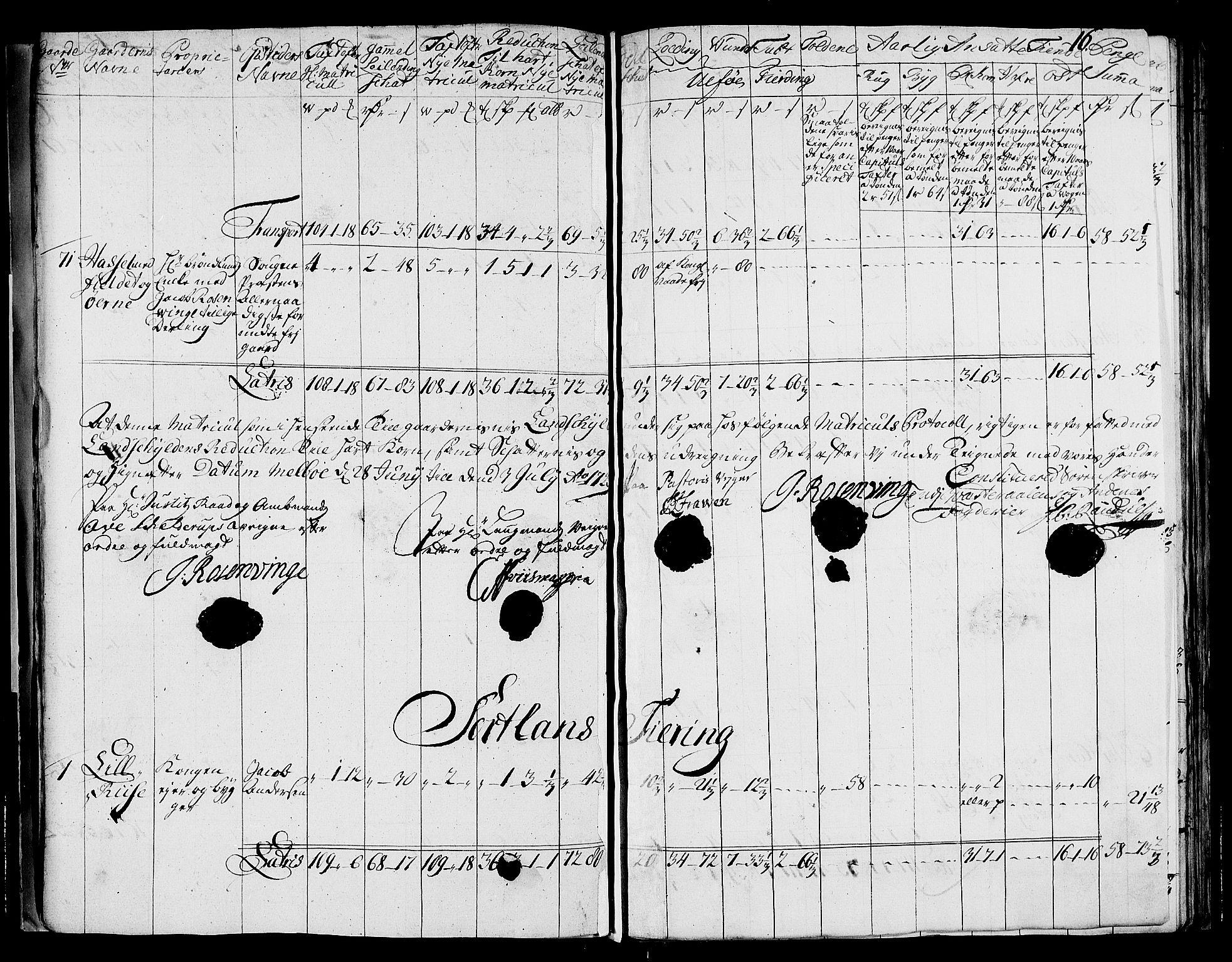 RA, Rentekammeret inntil 1814, Realistisk ordnet avdeling, N/Nb/Nbf/L0177: Vesterålen og Andenes matrikkelprotokoll, 1723, s. 15b-16a