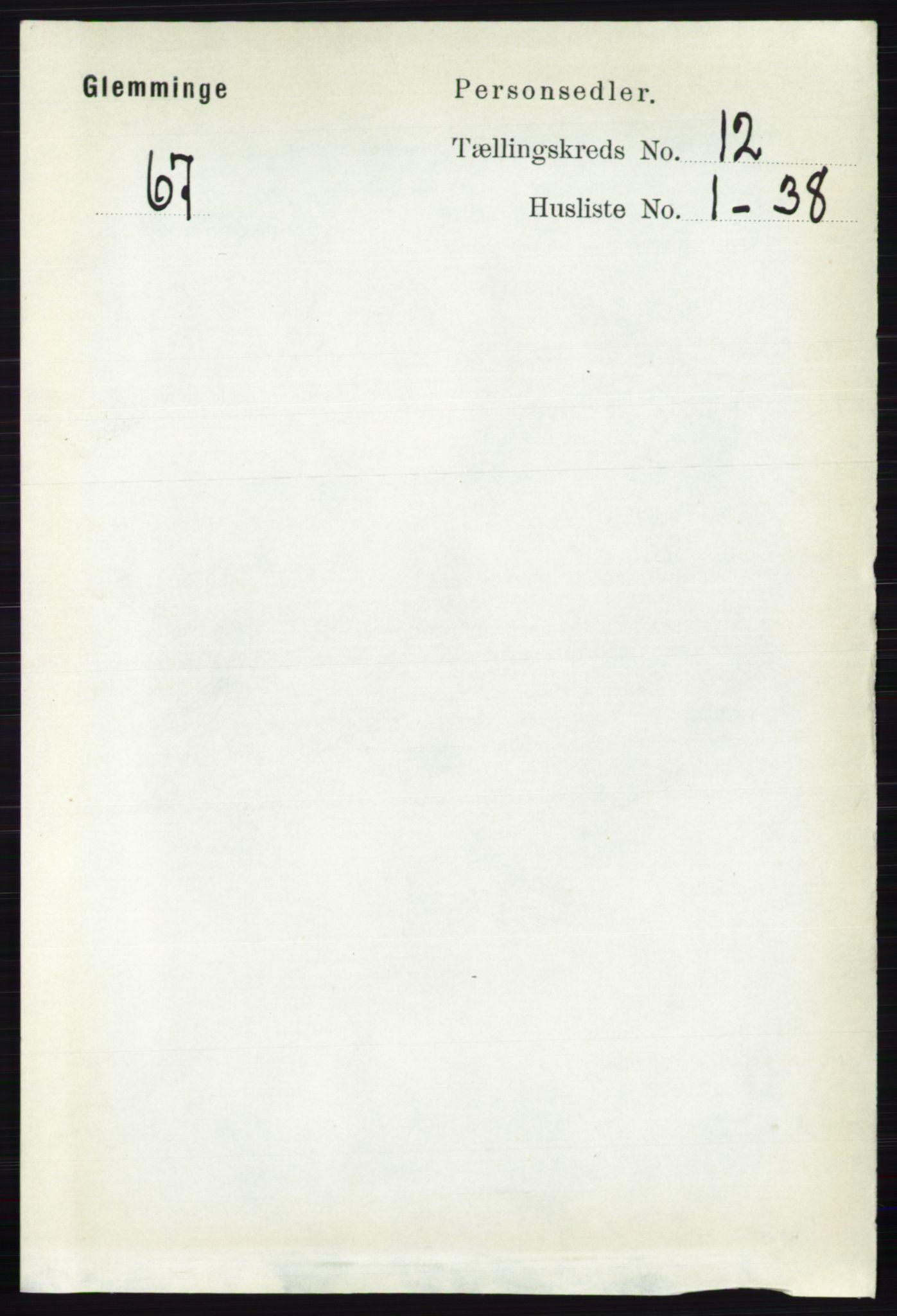 RA, Folketelling 1891 for 0132 Glemmen herred, 1891, s. 10832