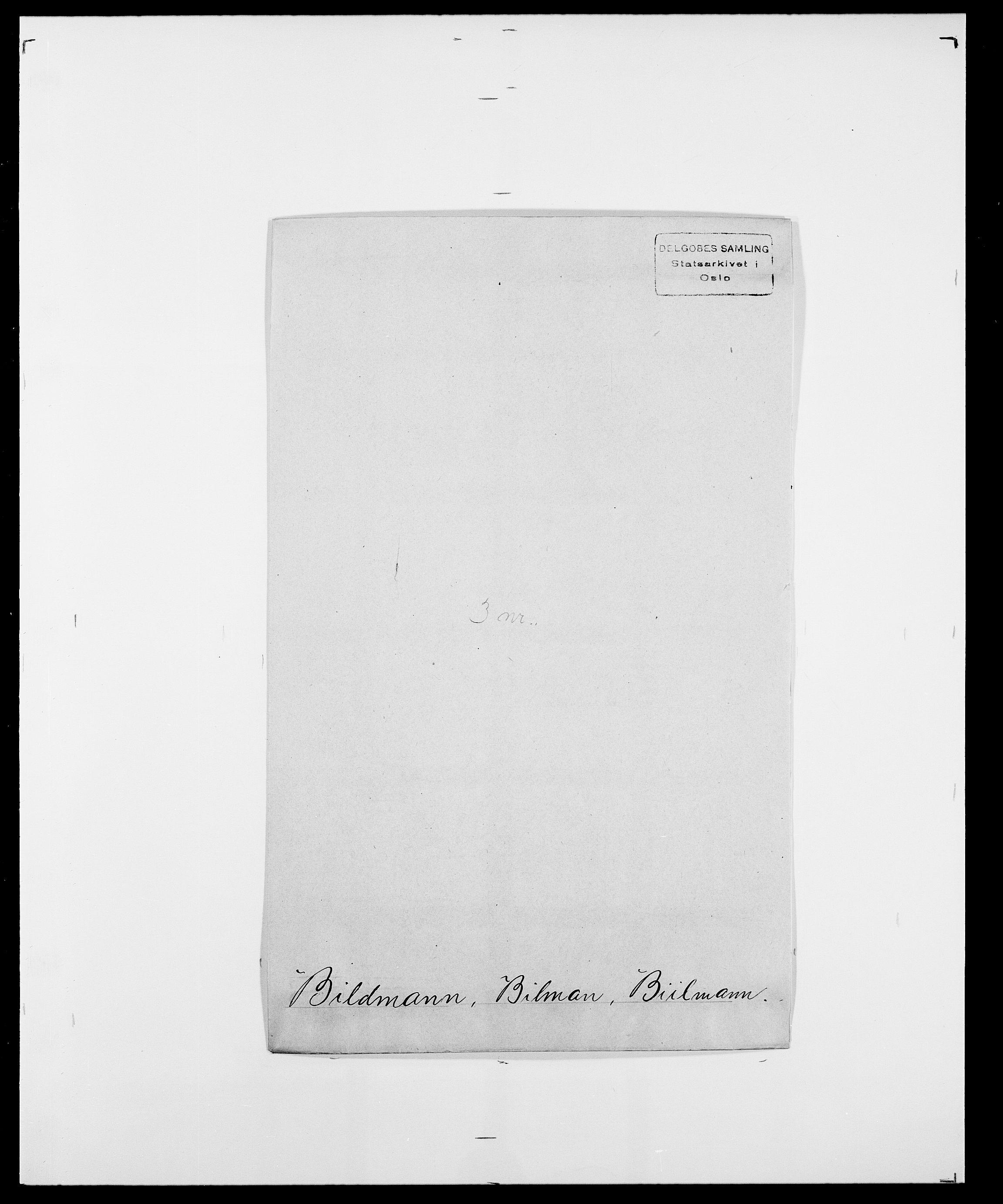 SAO, Delgobe, Charles Antoine - samling, D/Da/L0004: Bergendahl - Blære, s. 262