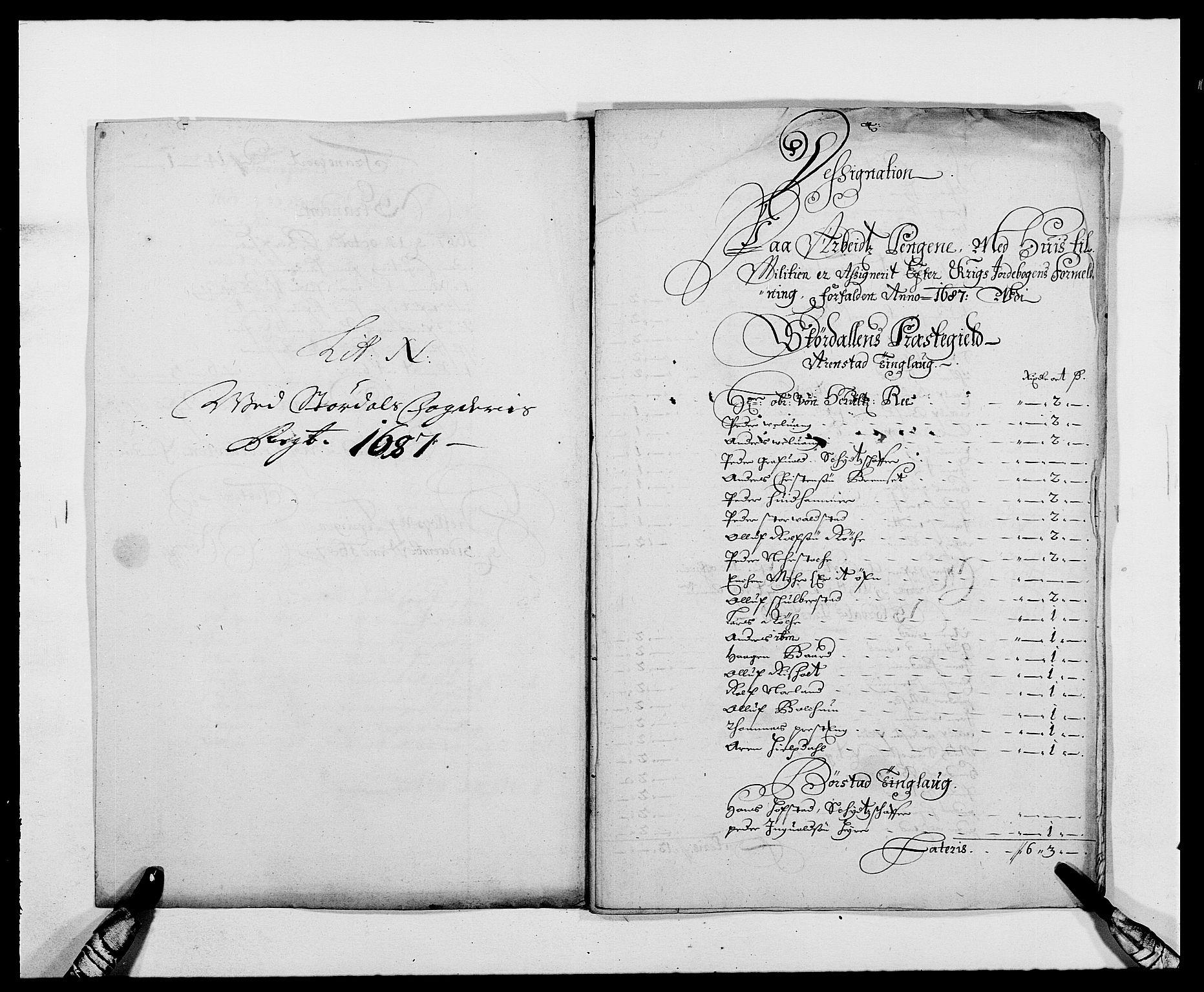 RA, Rentekammeret inntil 1814, Reviderte regnskaper, Fogderegnskap, R62/L4183: Fogderegnskap Stjørdal og Verdal, 1687-1689, s. 98