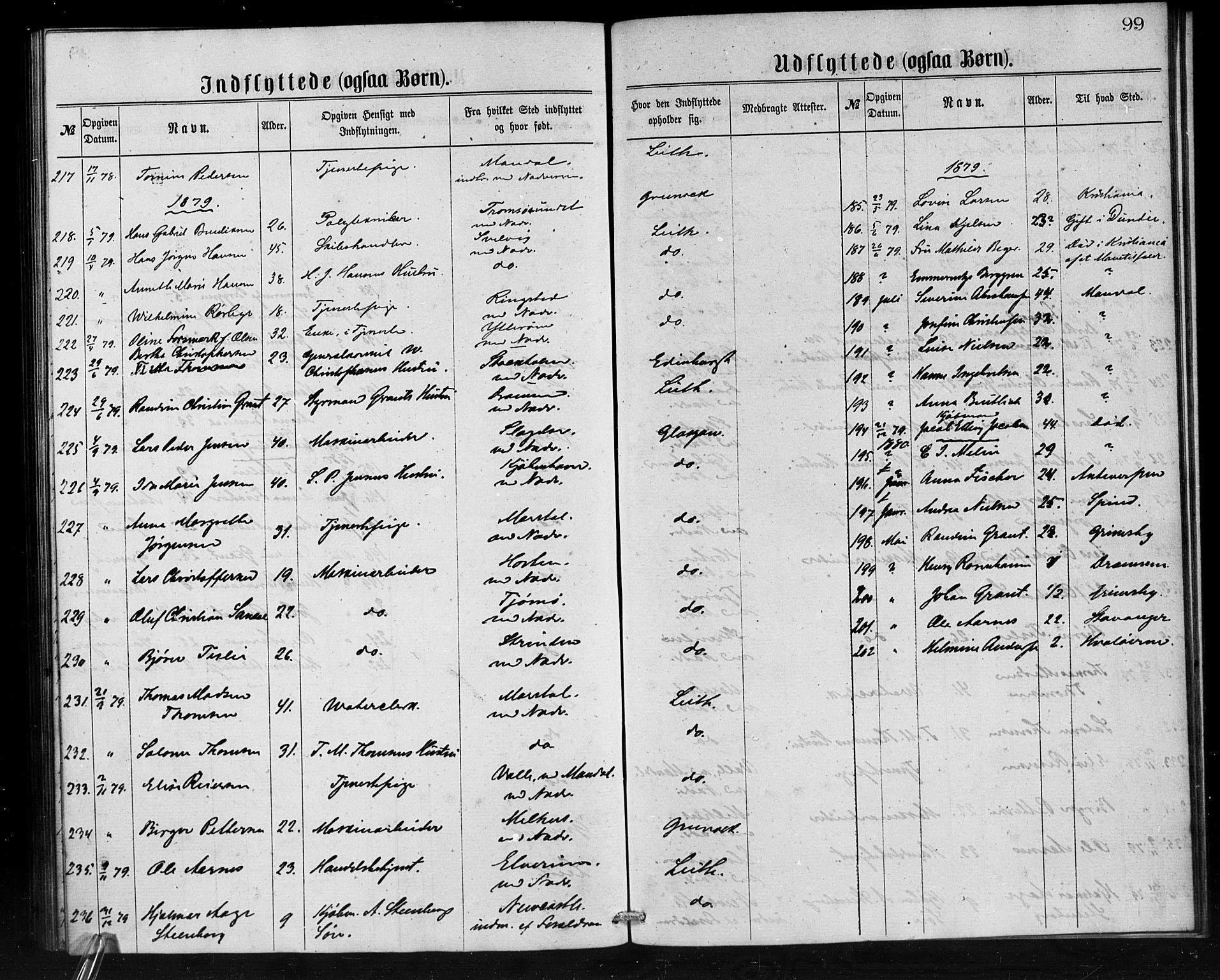 SAB, Den Norske Sjømannsmisjon i utlandet*, Ministerialbok nr. A 1, 1865-1880, s. 99