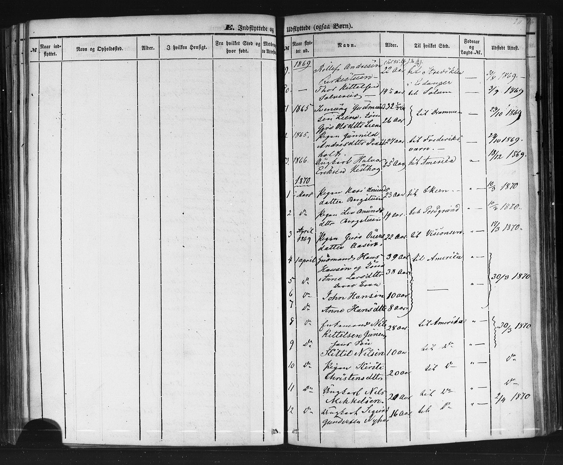 SAKO, Sauherad kirkebøker, F/Fb/L0001: Ministerialbok nr. II 1, 1851-1877, s. 211