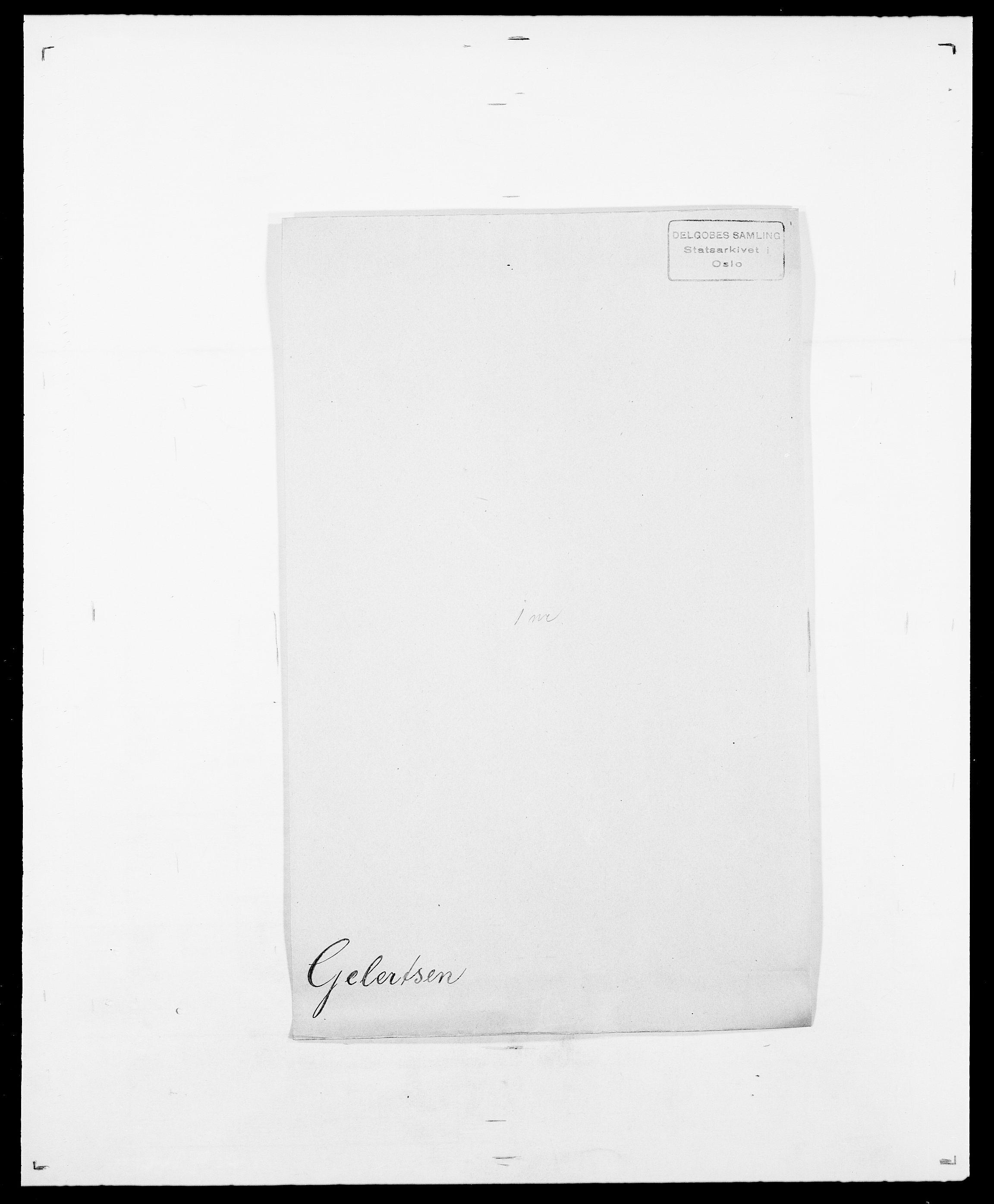 SAO, Delgobe, Charles Antoine - samling, D/Da/L0013: Forbos - Geving, s. 600