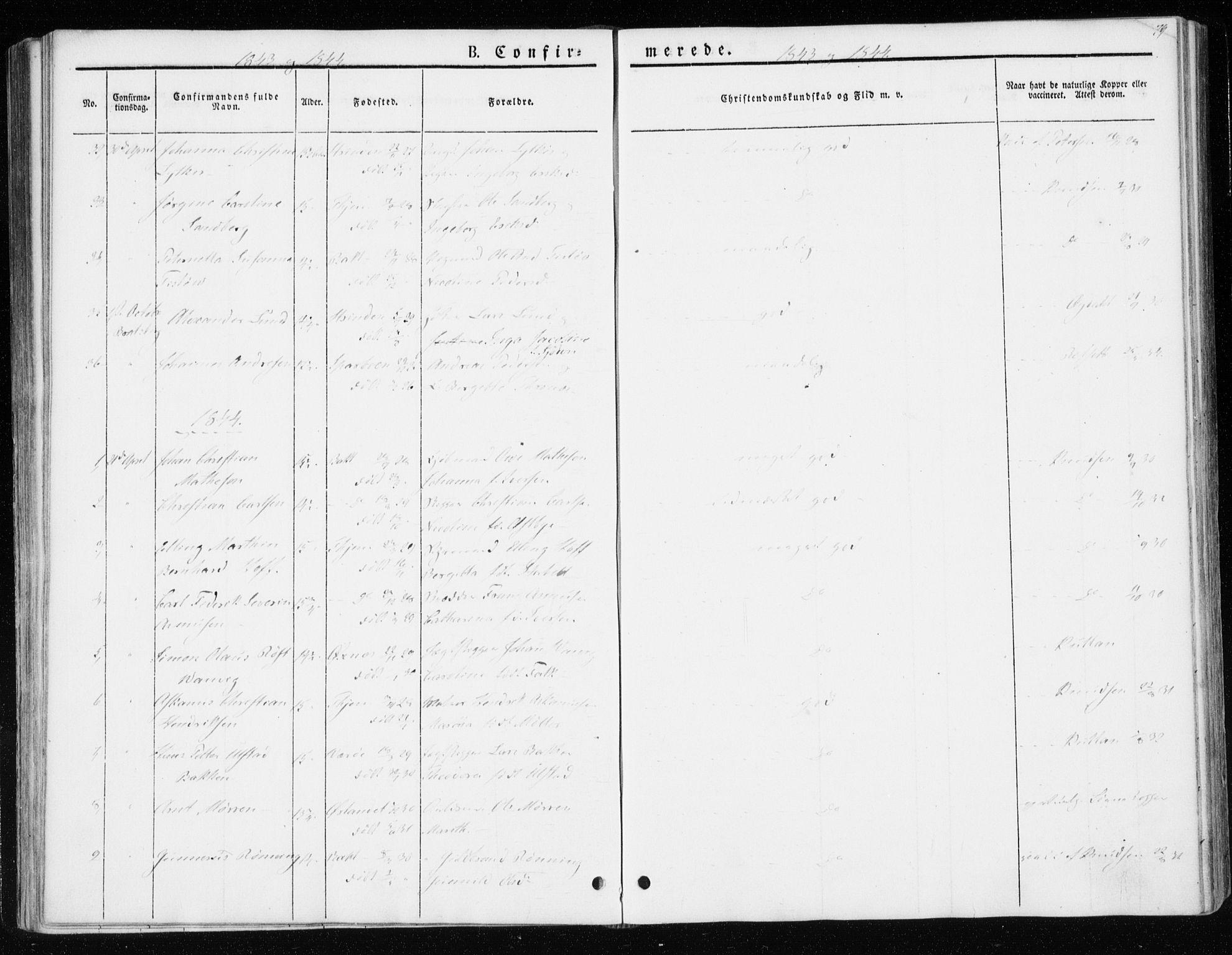 SAT, Ministerialprotokoller, klokkerbøker og fødselsregistre - Sør-Trøndelag, 604/L0183: Ministerialbok nr. 604A04, 1841-1850, s. 79