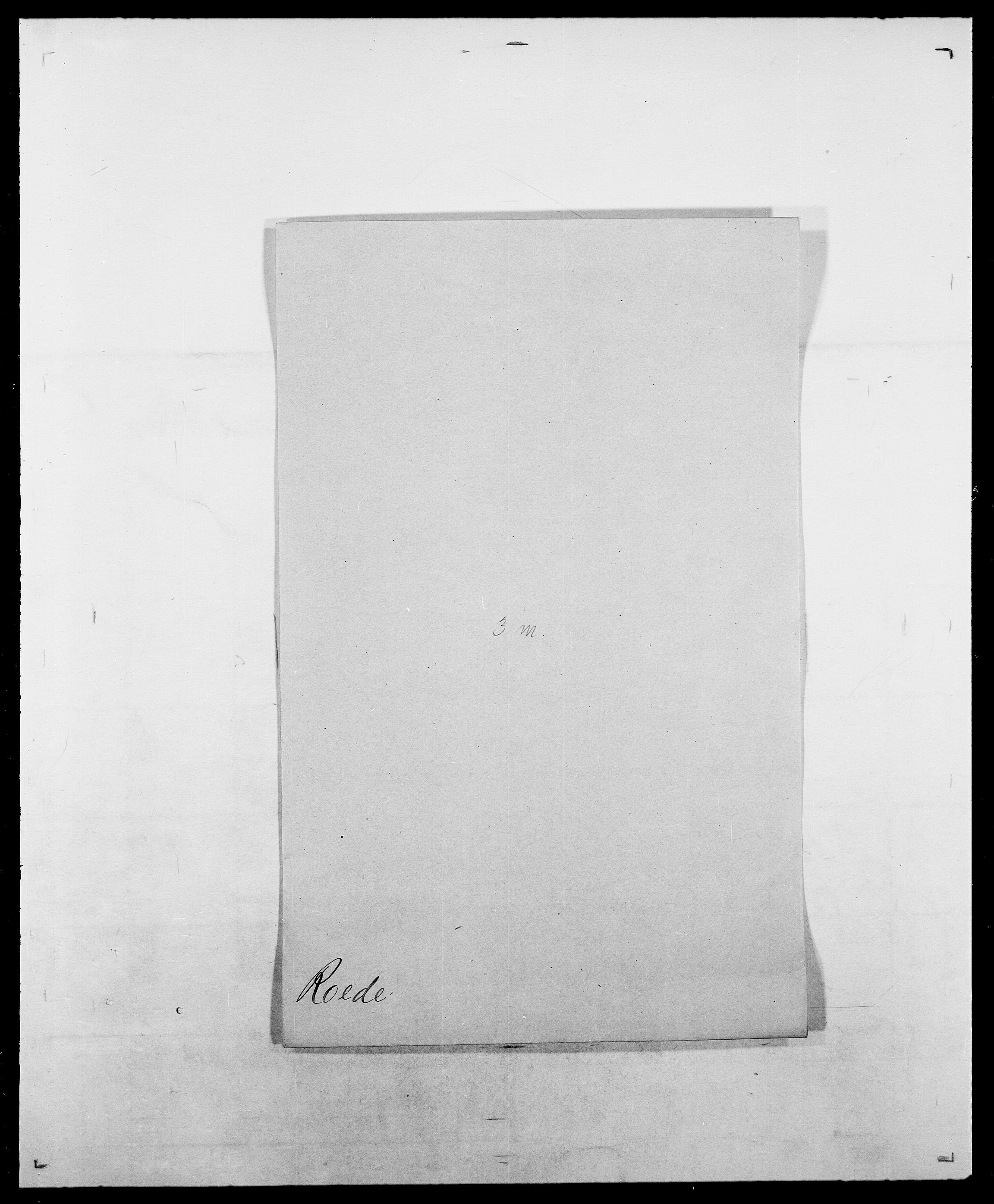 SAO, Delgobe, Charles Antoine - samling, D/Da/L0033: Roald - Røyem, s. 61