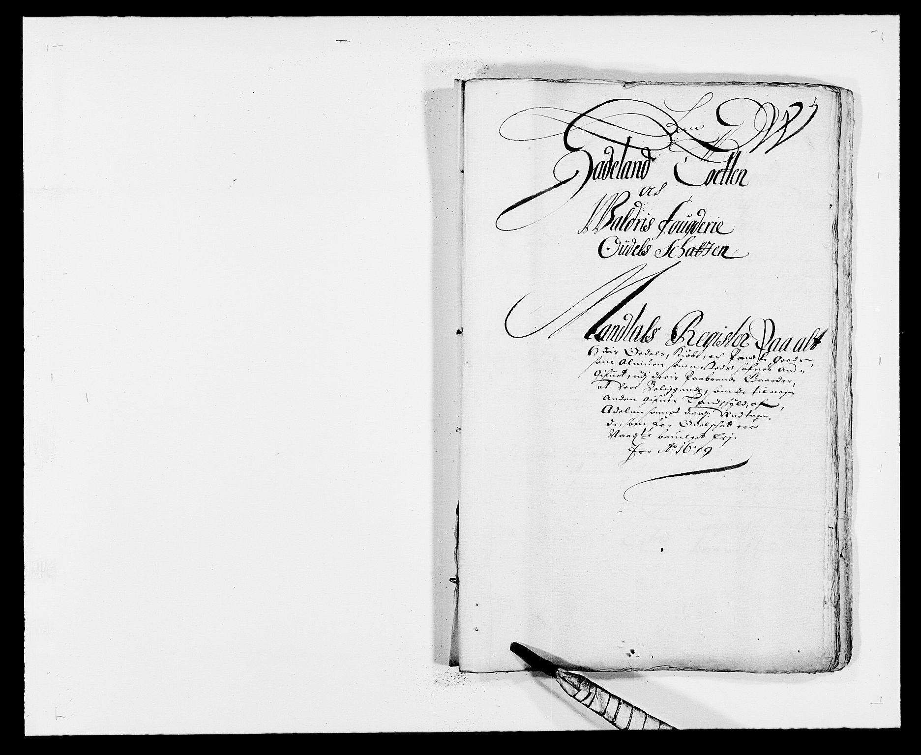RA, Rentekammeret inntil 1814, Reviderte regnskaper, Fogderegnskap, R18/L1274: Fogderegnskap Hadeland, Toten og Valdres, 1679, s. 47