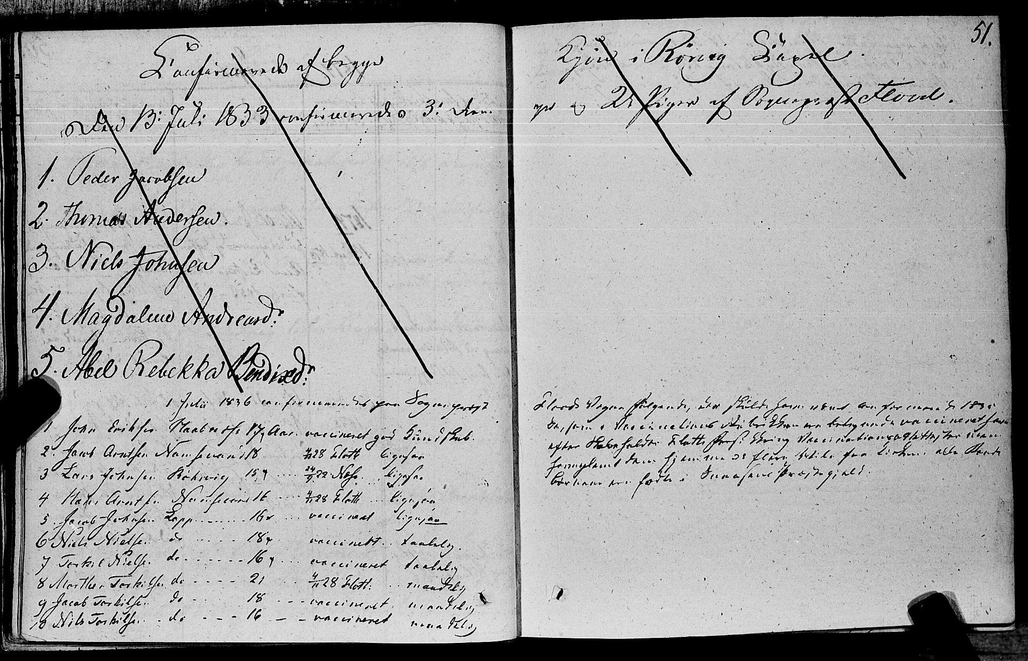 SAT, Ministerialprotokoller, klokkerbøker og fødselsregistre - Nord-Trøndelag, 762/L0538: Ministerialbok nr. 762A02 /1, 1833-1879, s. 51