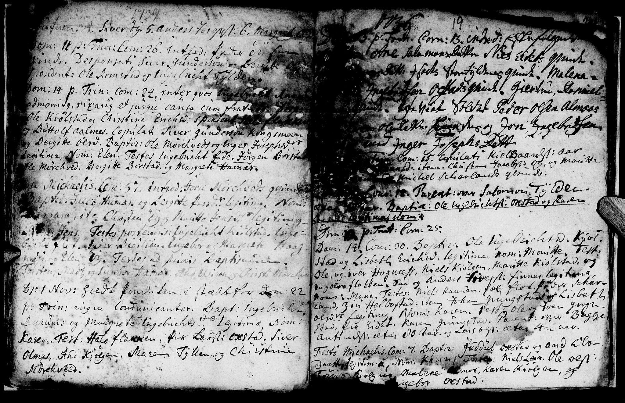 SAT, Ministerialprotokoller, klokkerbøker og fødselsregistre - Nord-Trøndelag, 765/L0560: Ministerialbok nr. 765A01, 1706-1748, s. 23