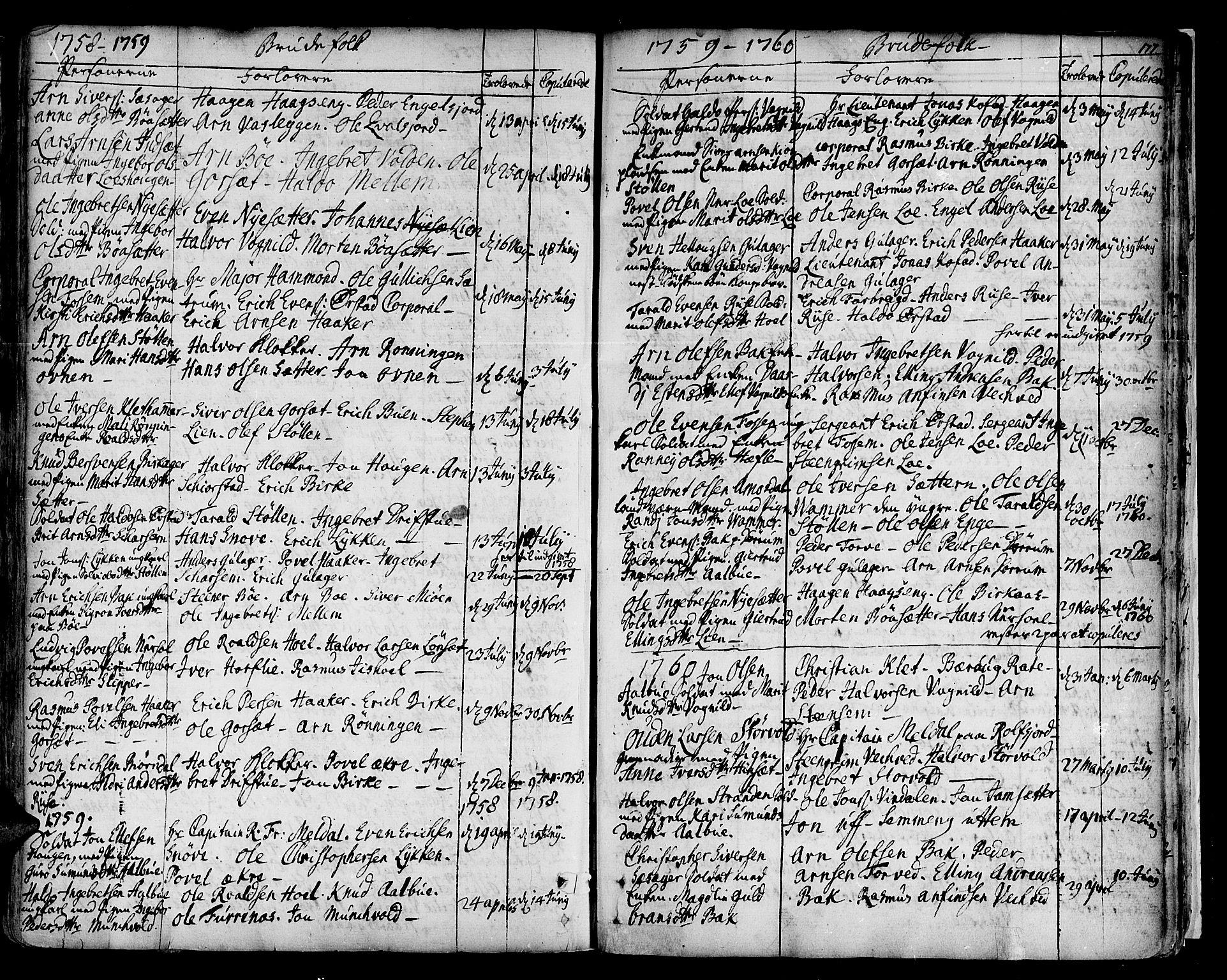 SAT, Ministerialprotokoller, klokkerbøker og fødselsregistre - Sør-Trøndelag, 678/L0891: Ministerialbok nr. 678A01, 1739-1780, s. 177