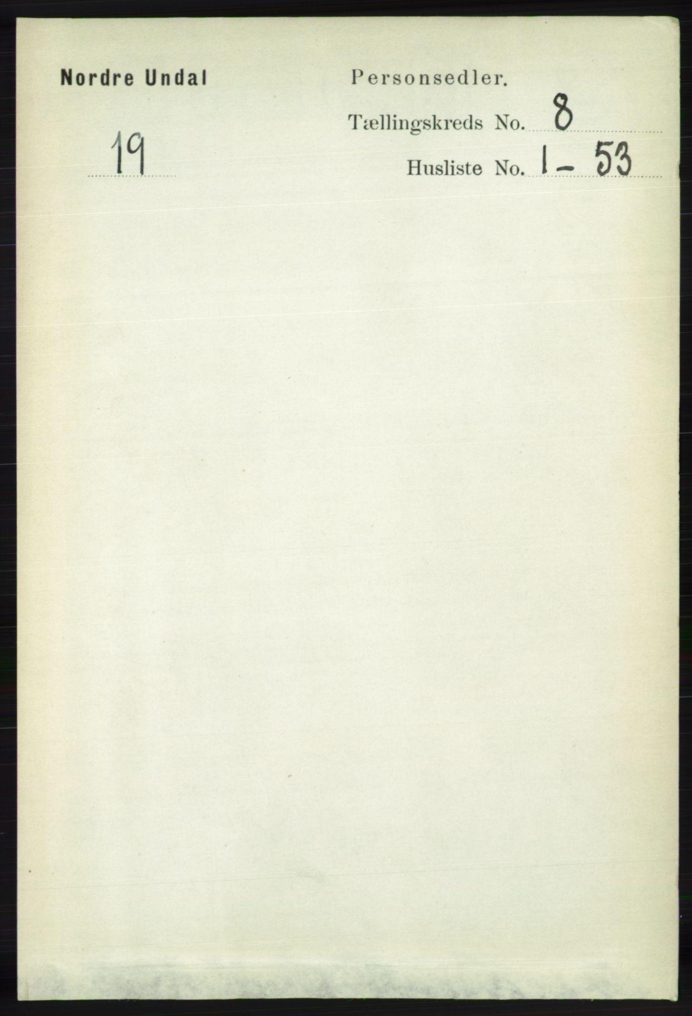 RA, Folketelling 1891 for 1028 Nord-Audnedal herred, 1891, s. 2127