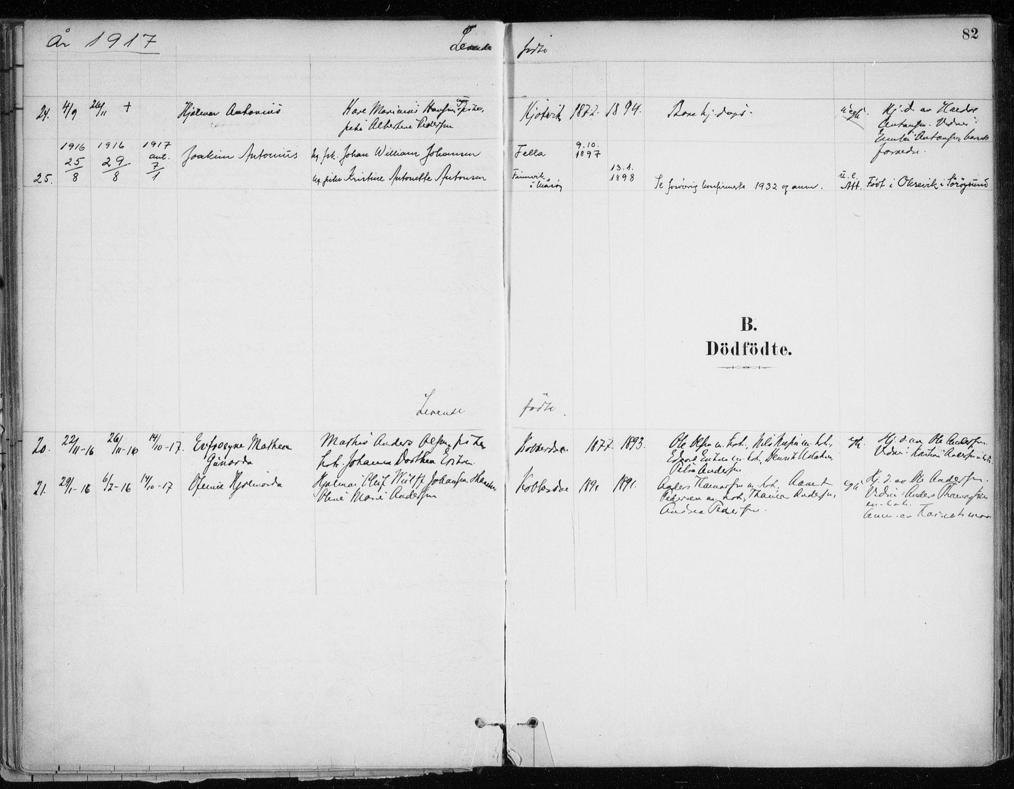SATØ, Hammerfest sokneprestkontor, H/Ha/L0013.kirke: Ministerialbok nr. 13, 1898-1917, s. 82
