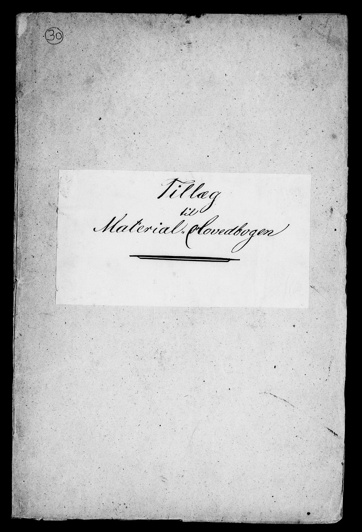 RA, Modums Blaafarveværk, G/Gd/Gdb/L0193: Tillæg til Material-Hovedbog, 1849, s. 2