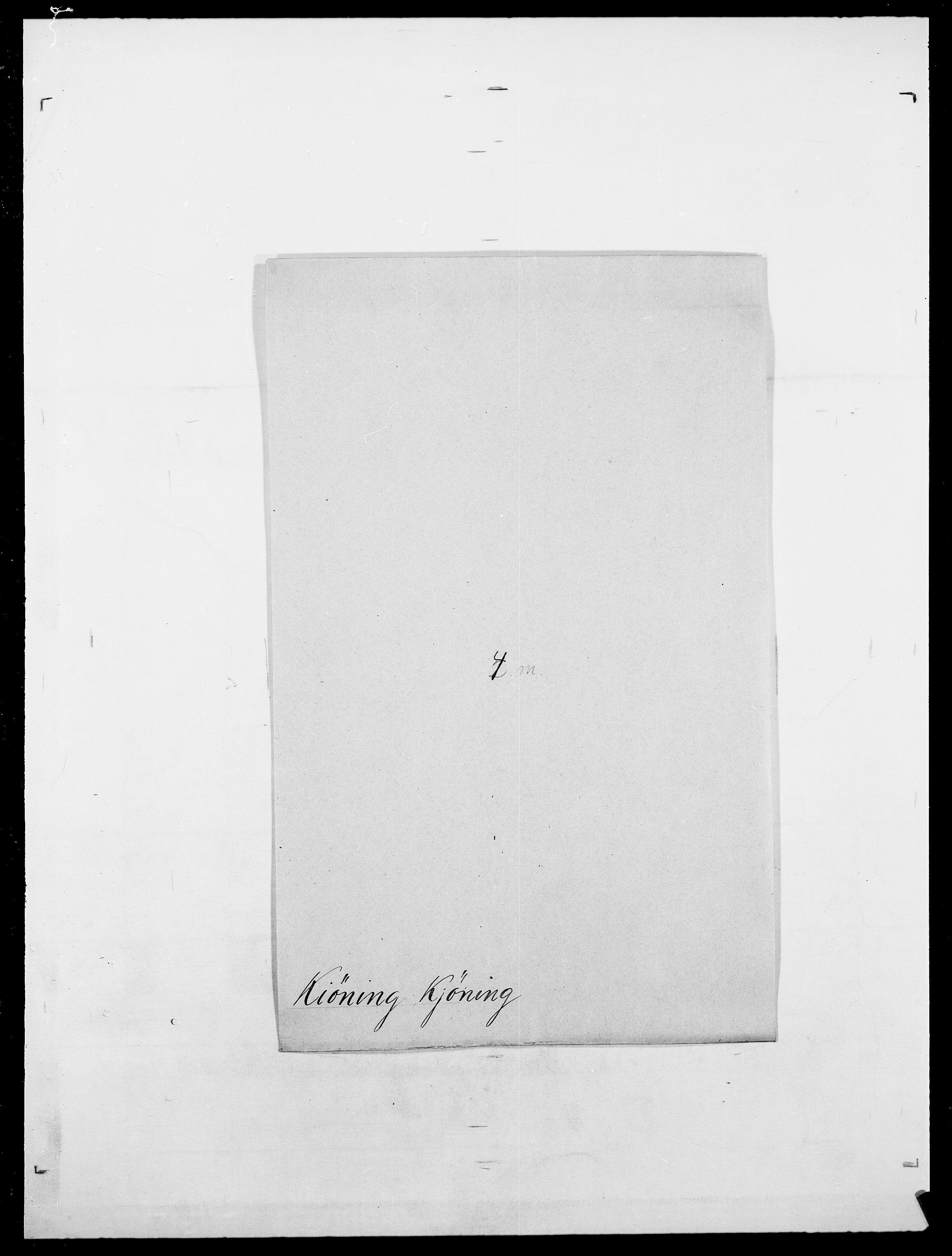 SAO, Delgobe, Charles Antoine - samling, D/Da/L0020: Irgens - Kjøsterud, s. 703