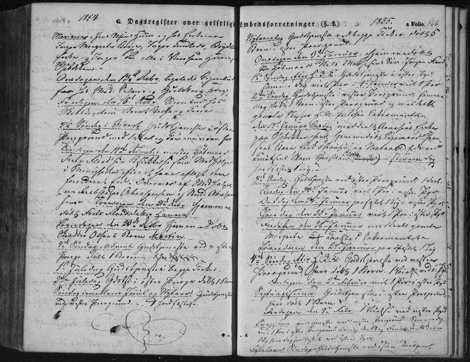 SAKO, Porsgrunn kirkebøker , F/Fa/L0006: Ministerialbok nr. 6, 1841-1857, s. 566