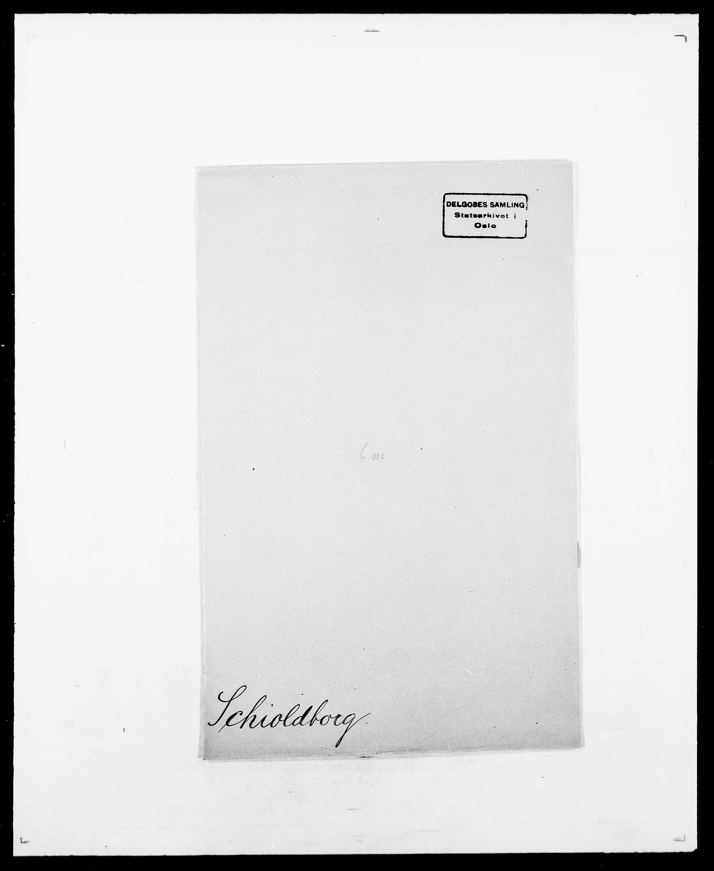 SAO, Delgobe, Charles Antoine - samling, D/Da/L0034: Saabye - Schmincke, s. 562