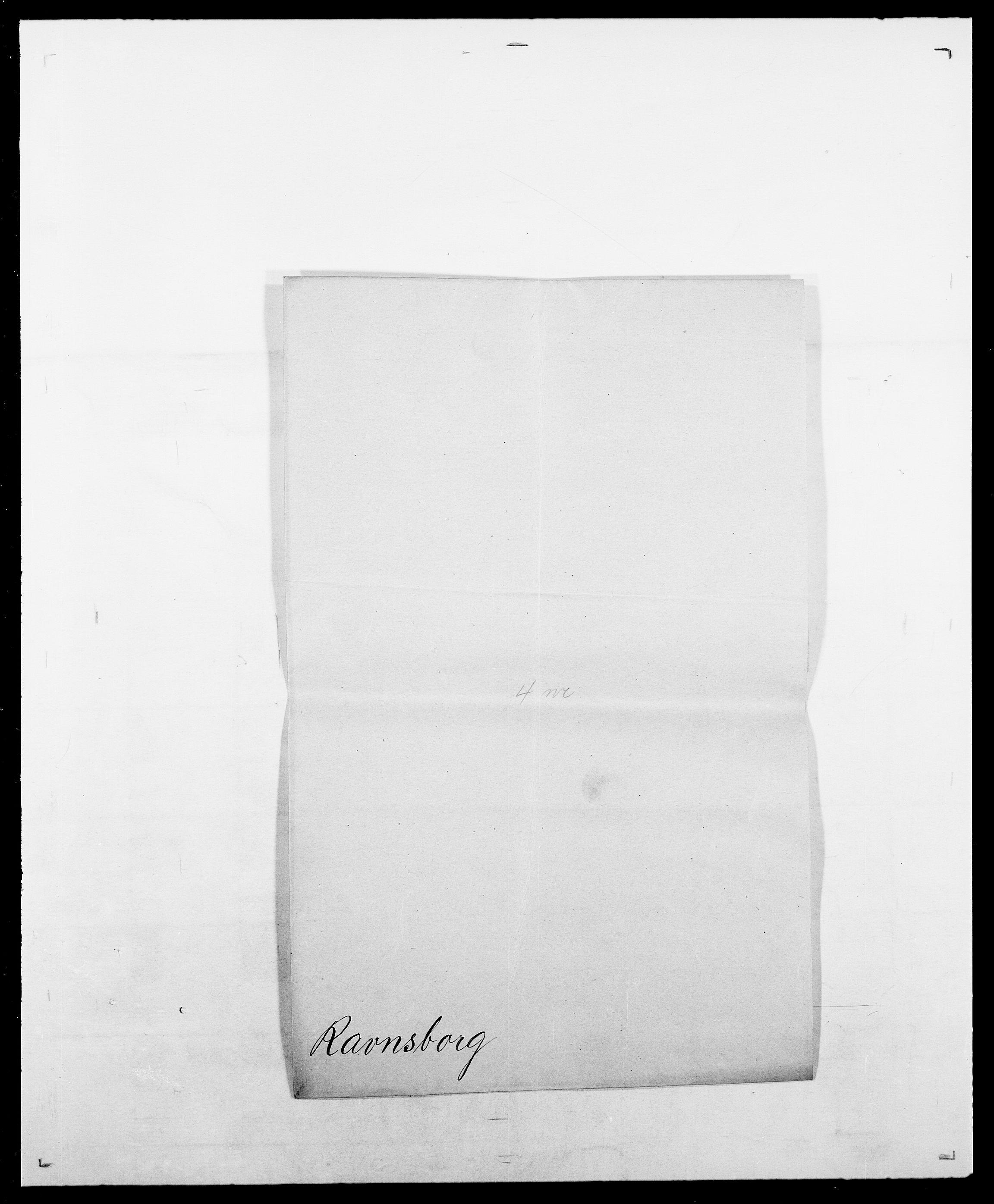 SAO, Delgobe, Charles Antoine - samling, D/Da/L0032: Rabakovsky - Rivertz, s. 219