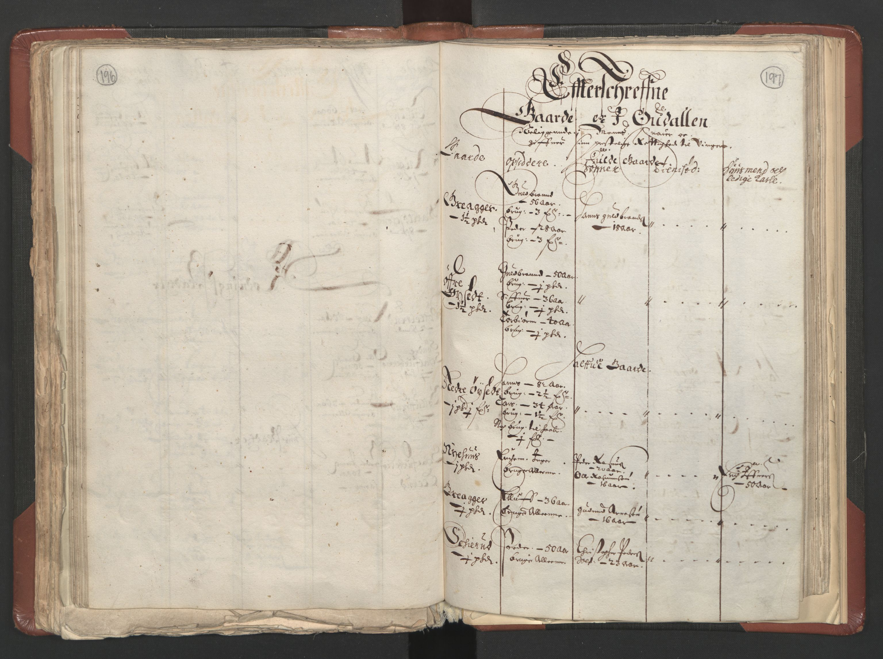 RA, Fogdenes og sorenskrivernes manntall 1664-1666, nr. 3: Hedmark fogderi og Solør, Østerdal og Odal fogderi, 1664, s. 196-197