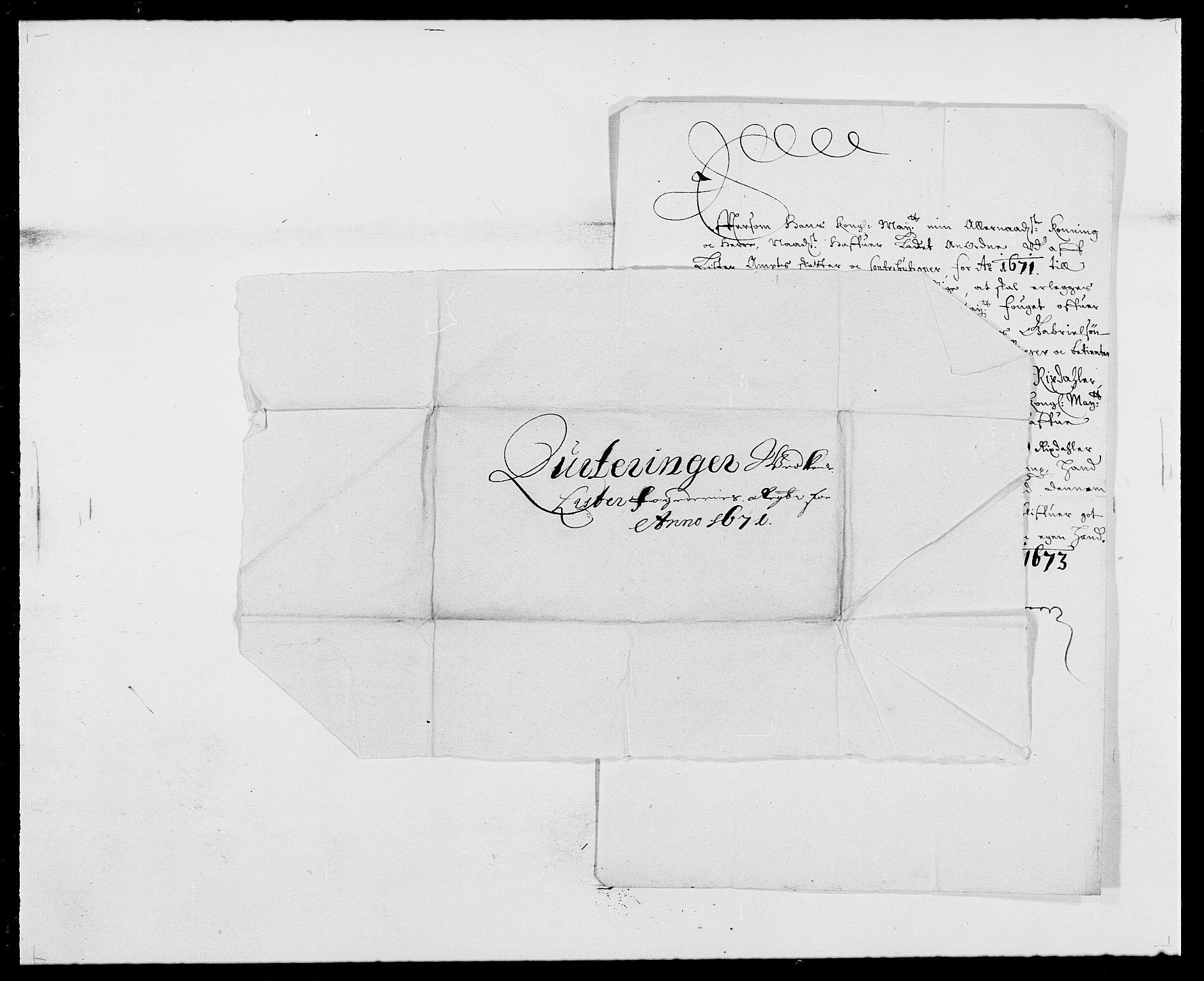 RA, Rentekammeret inntil 1814, Reviderte regnskaper, Fogderegnskap, R41/L2525: Fogderegnskap Lista, 1669-1671, s. 304