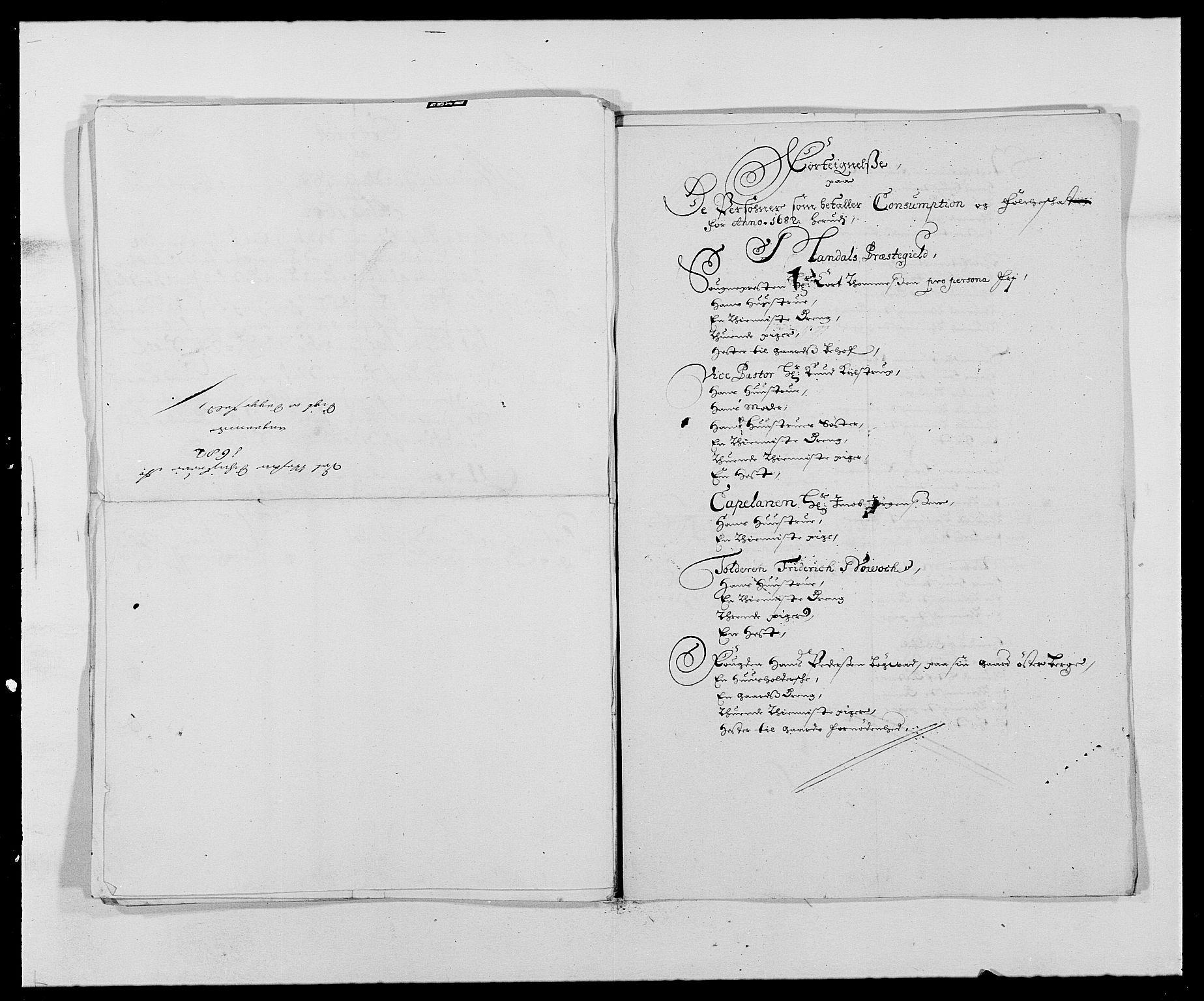 RA, Rentekammeret inntil 1814, Reviderte regnskaper, Fogderegnskap, R42/L2541: Mandal fogderi, 1681-1684, s. 121