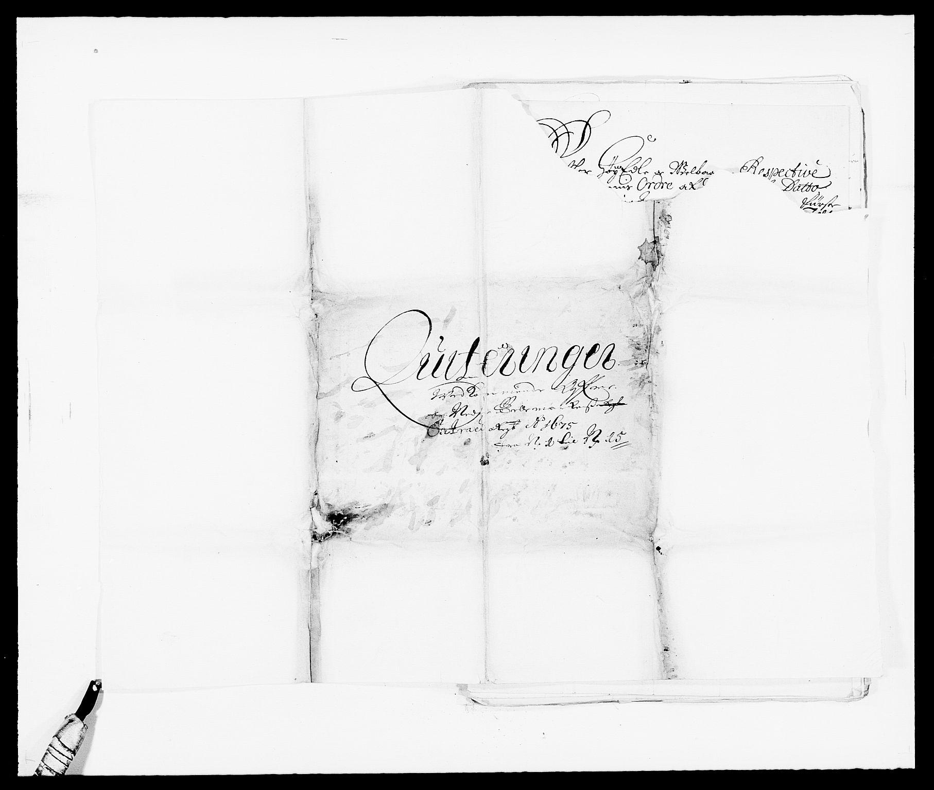 RA, Rentekammeret inntil 1814, Reviderte regnskaper, Fogderegnskap, R35/L2064: Fogderegnskap Øvre og Nedre Telemark, 1675, s. 197