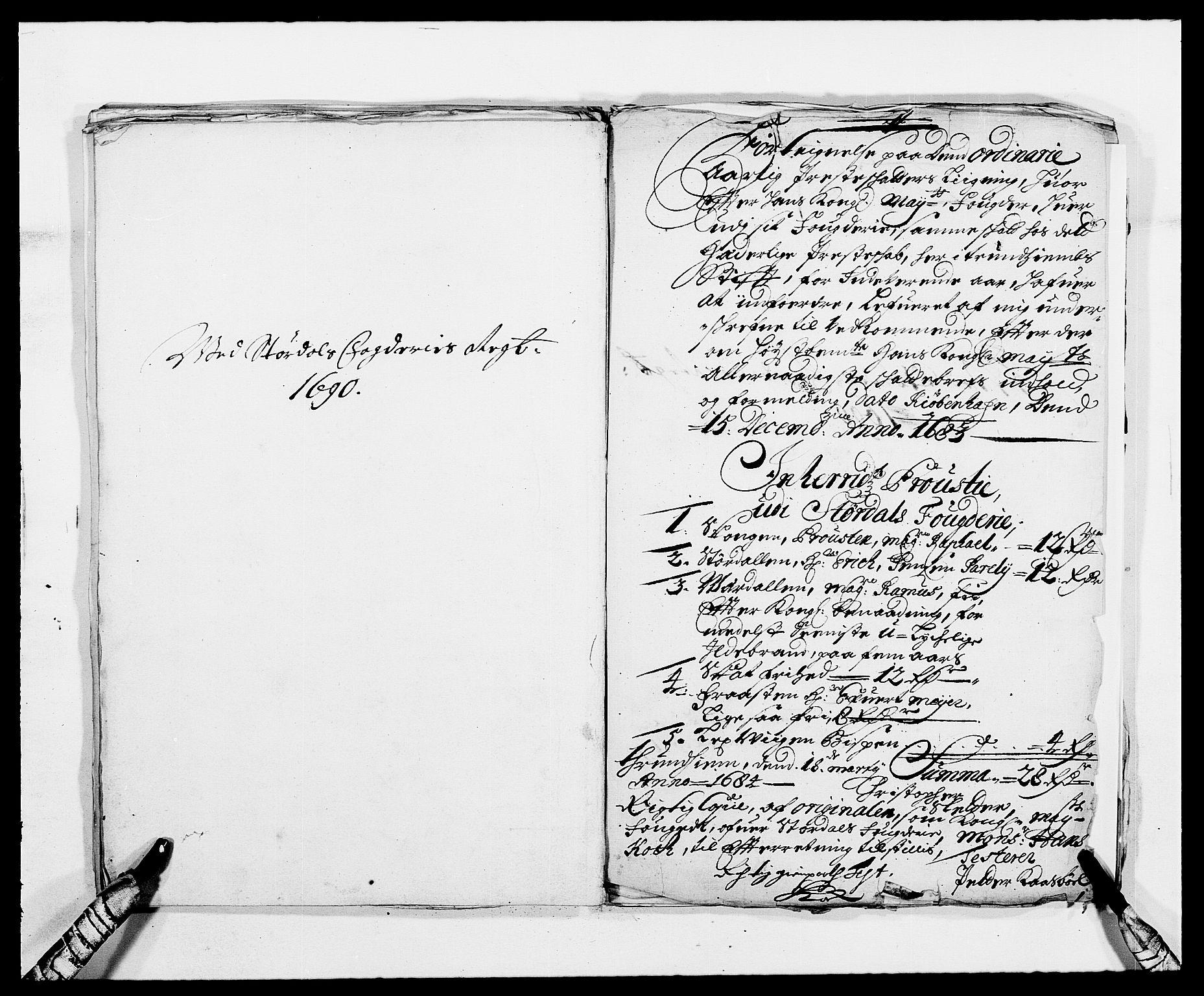 RA, Rentekammeret inntil 1814, Reviderte regnskaper, Fogderegnskap, R62/L4184: Fogderegnskap Stjørdal og Verdal, 1690-1691, s. 178