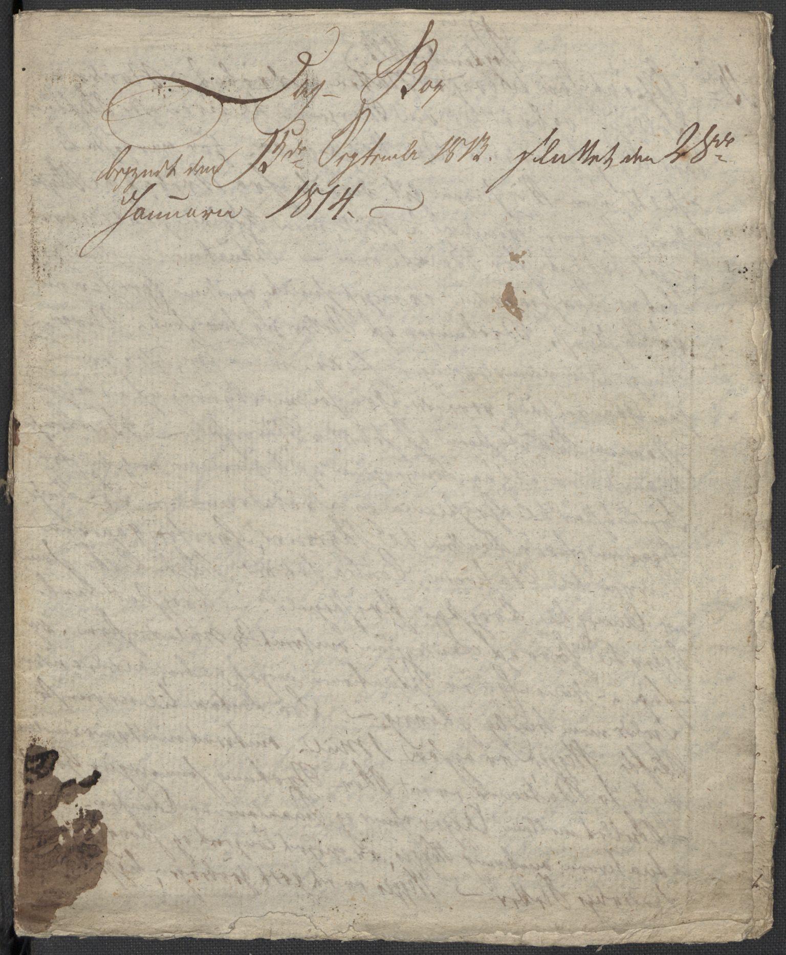RA, Holck, Meidell, Hartvig, F/L0001: (Kassett) Dagbøker ført av Ole Elias v.Holck, 1798-1842, s. 336