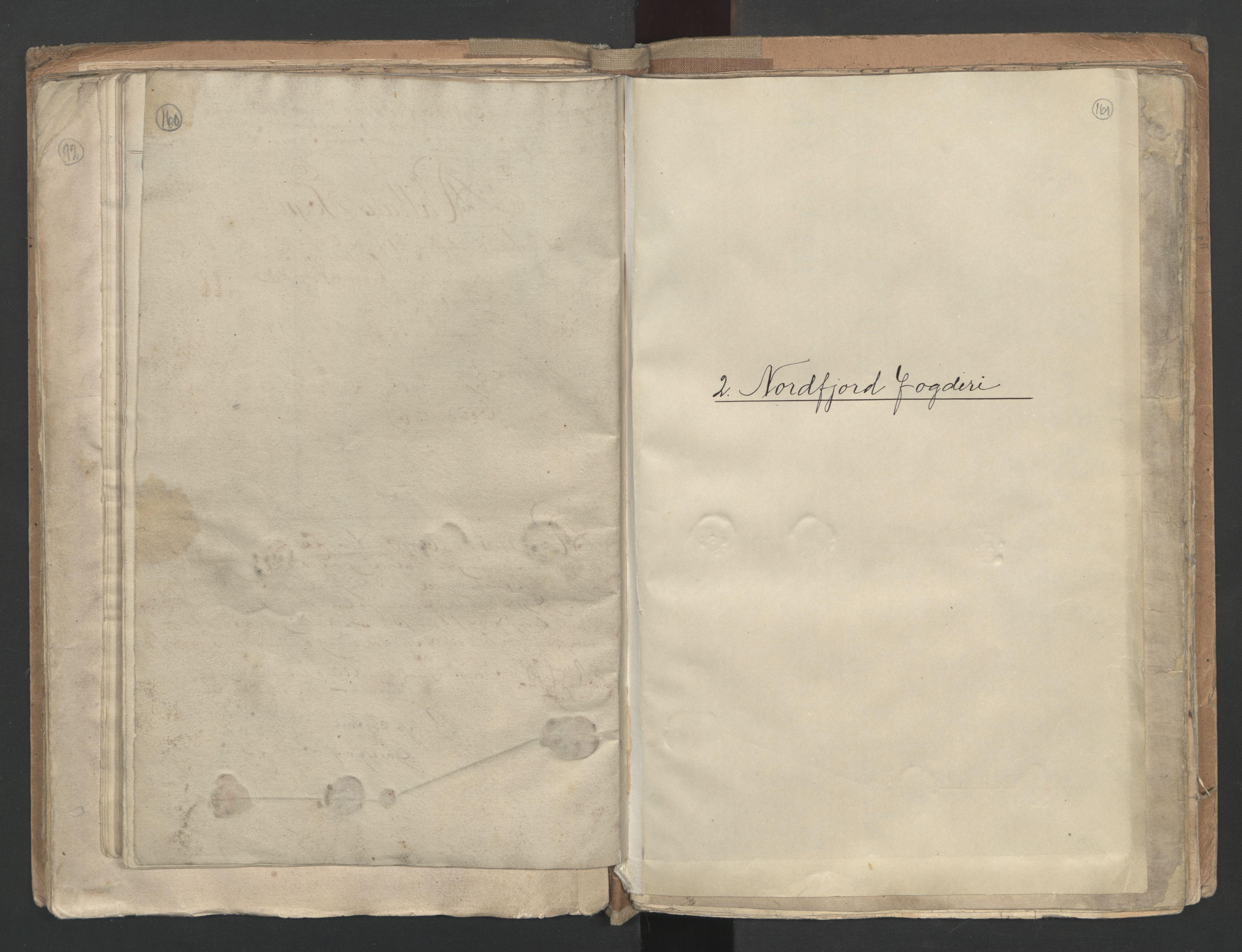 RA, Manntallet 1701, nr. 9: Sunnfjord fogderi, Nordfjord fogderi og Svanø birk, 1701, s. 160-161