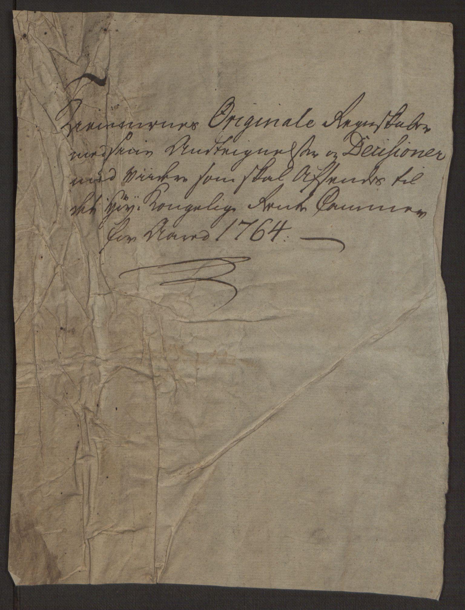 RA, Rentekammeret inntil 1814, Reviderte regnskaper, Byregnskaper, R/Rp/L0367: [P21] Kontribusjonsregnskap, 1764, s. 10