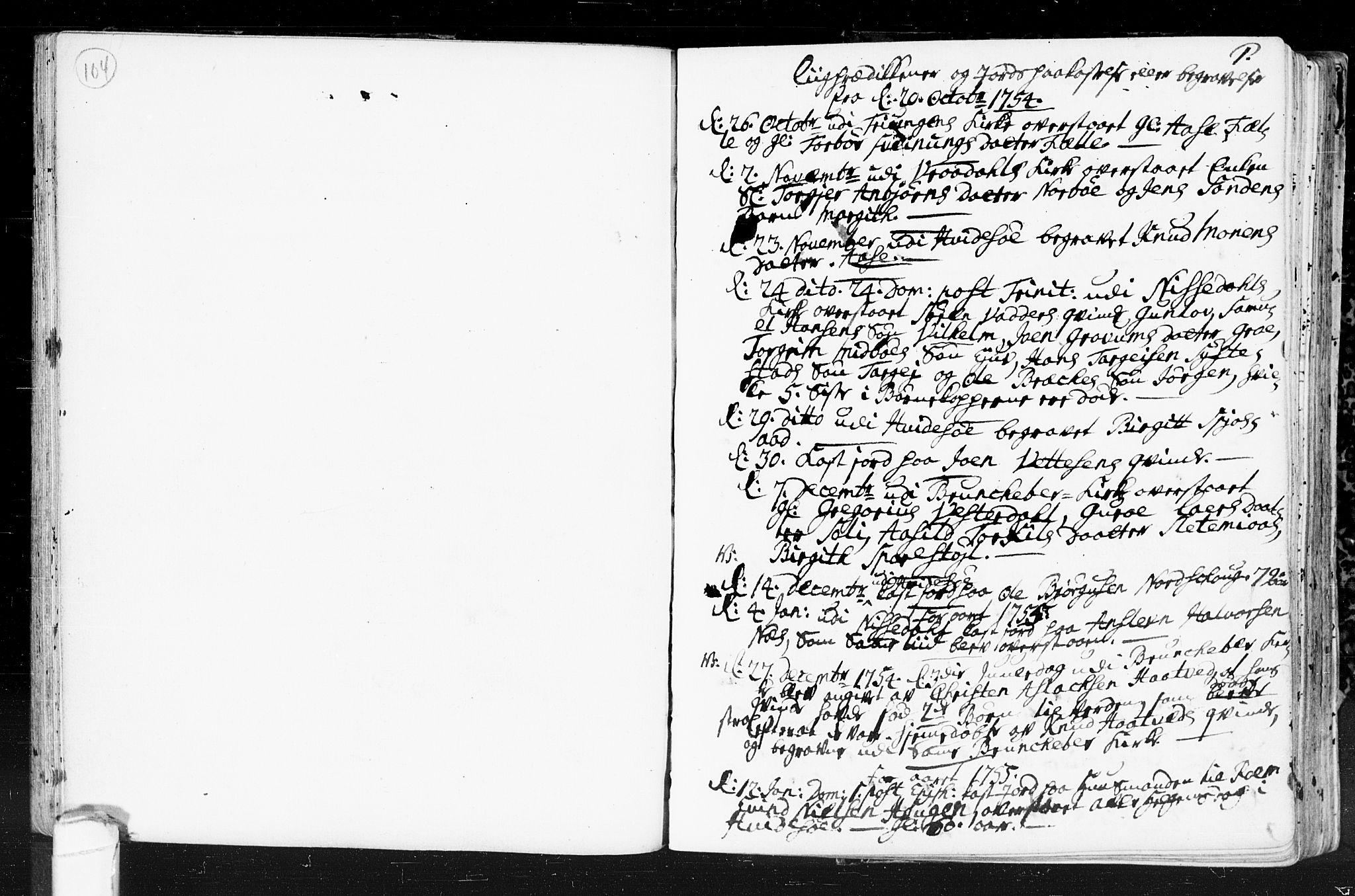 SAKO, Kviteseid kirkebøker, F/Fa/L0001: Ministerialbok nr. I 1, 1754-1773, s. 0-1