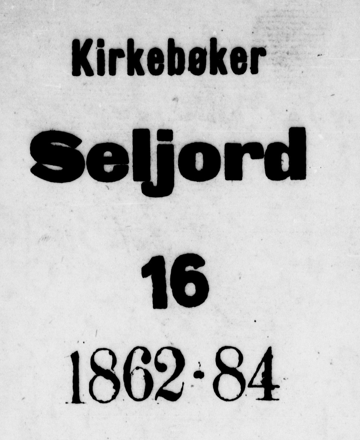 SAKO, Seljord kirkebøker, G/Gb/L0003: Klokkerbok nr. II 3, 1863-1884